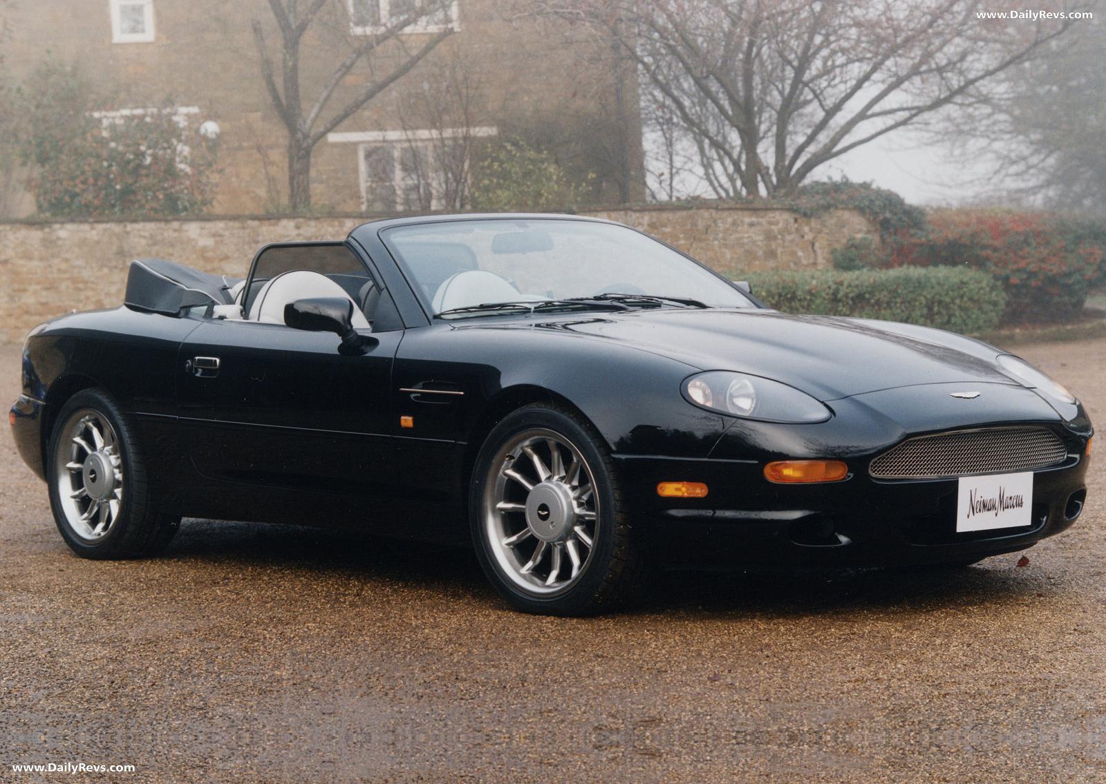 1997 Aston Martin Db7 Volante Dailyrevs