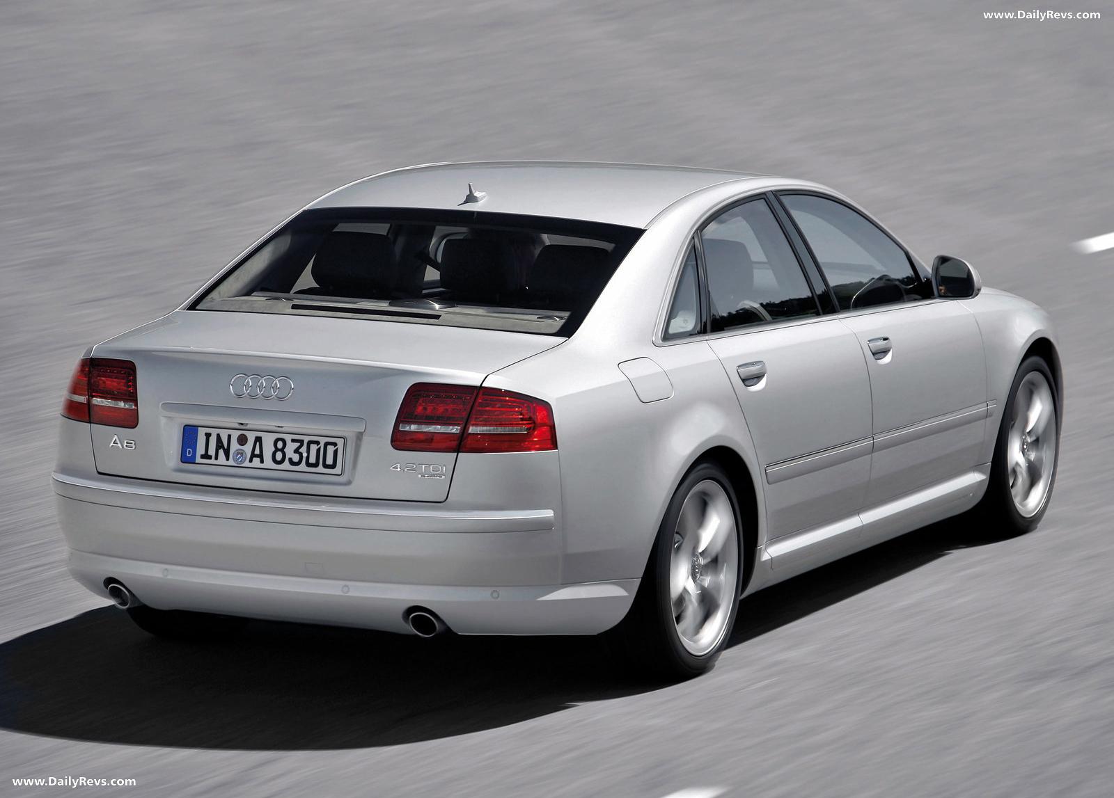 2008 Audi A8 4.2 TDI quattro - HD Pictures, Videos, Specs ...