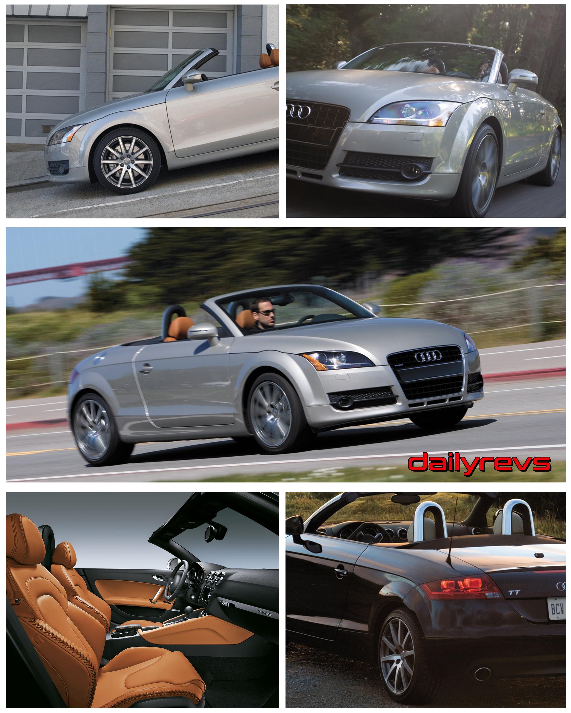 2008 Audi Tt Roadster 3 2 Quattro Hd Pictures Videos Specs Informations Dailyrevs