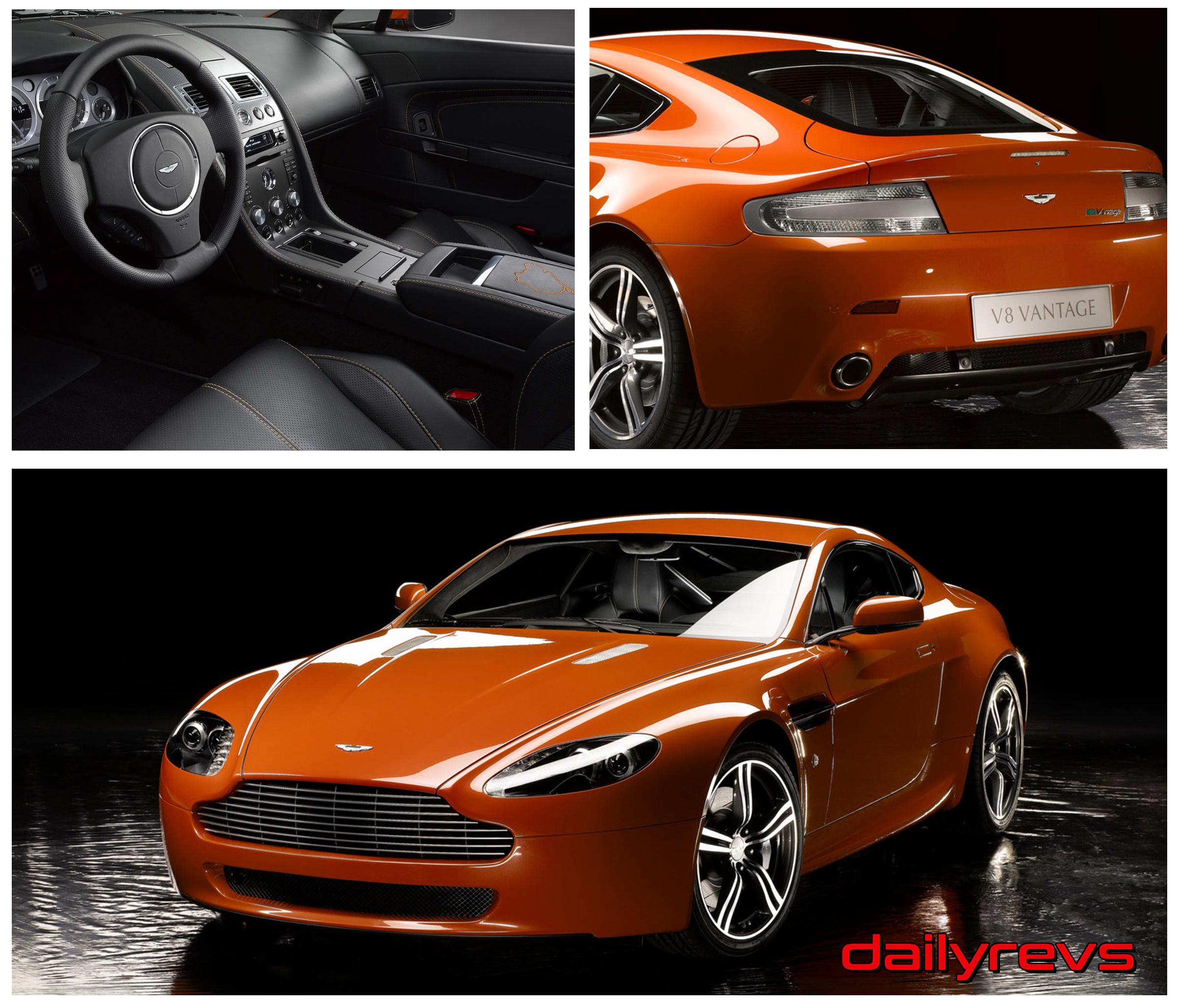 2008 Aston Martin V8 Vantage N400 Dailyrevs