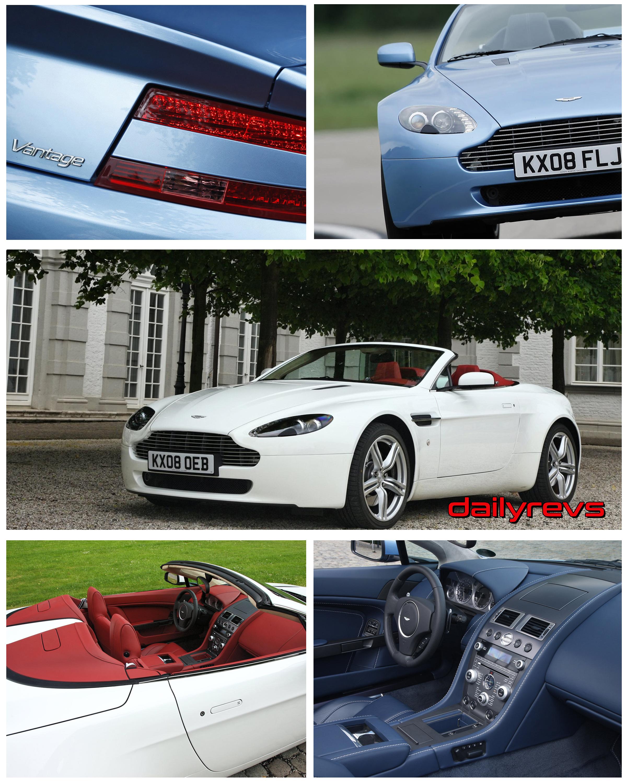 2009 Aston Martin V8 Vantage Roadster Dailyrevs