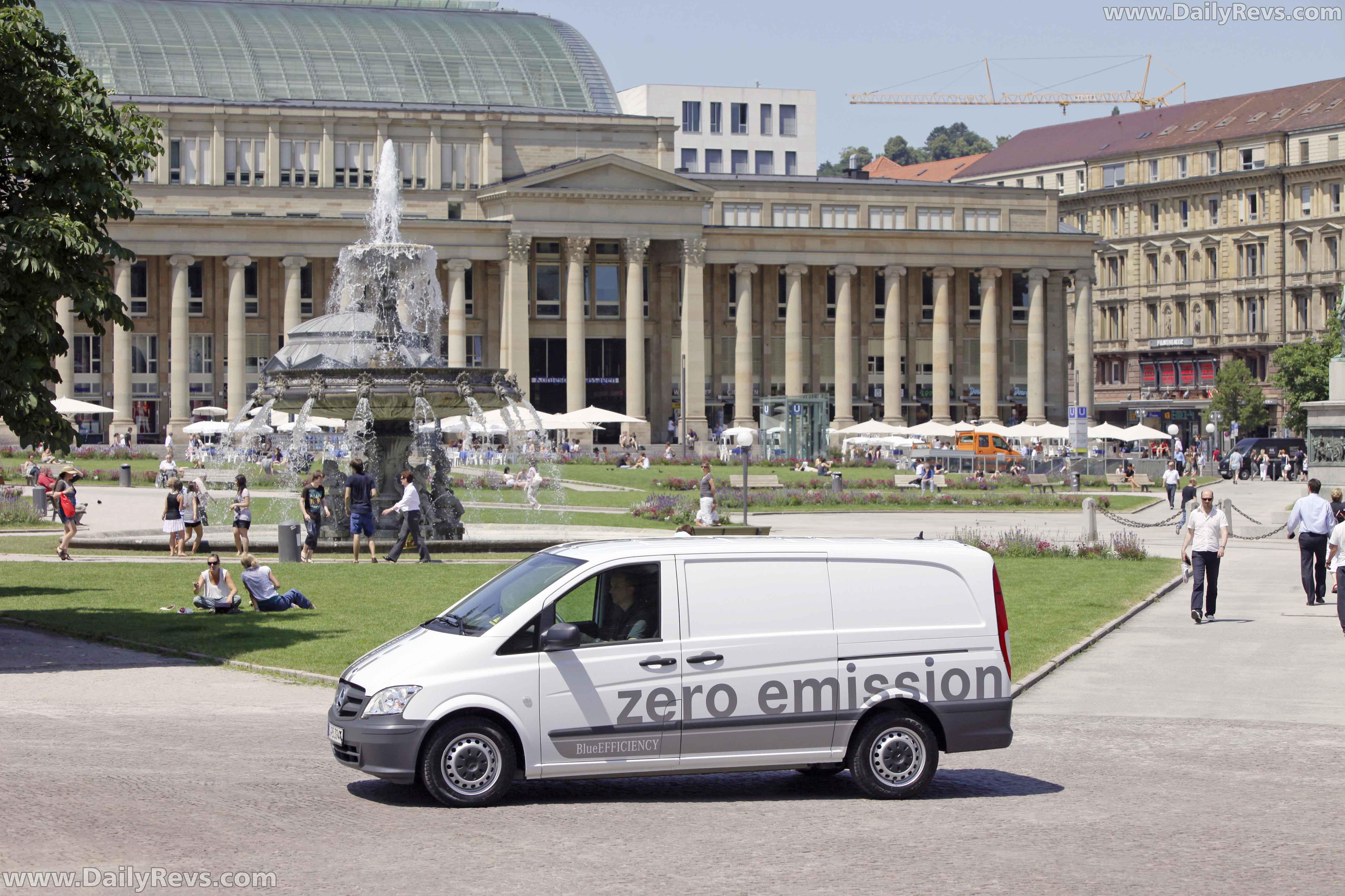 2011 Mercedes-Benz Vito E-Cell - Dailyrevs