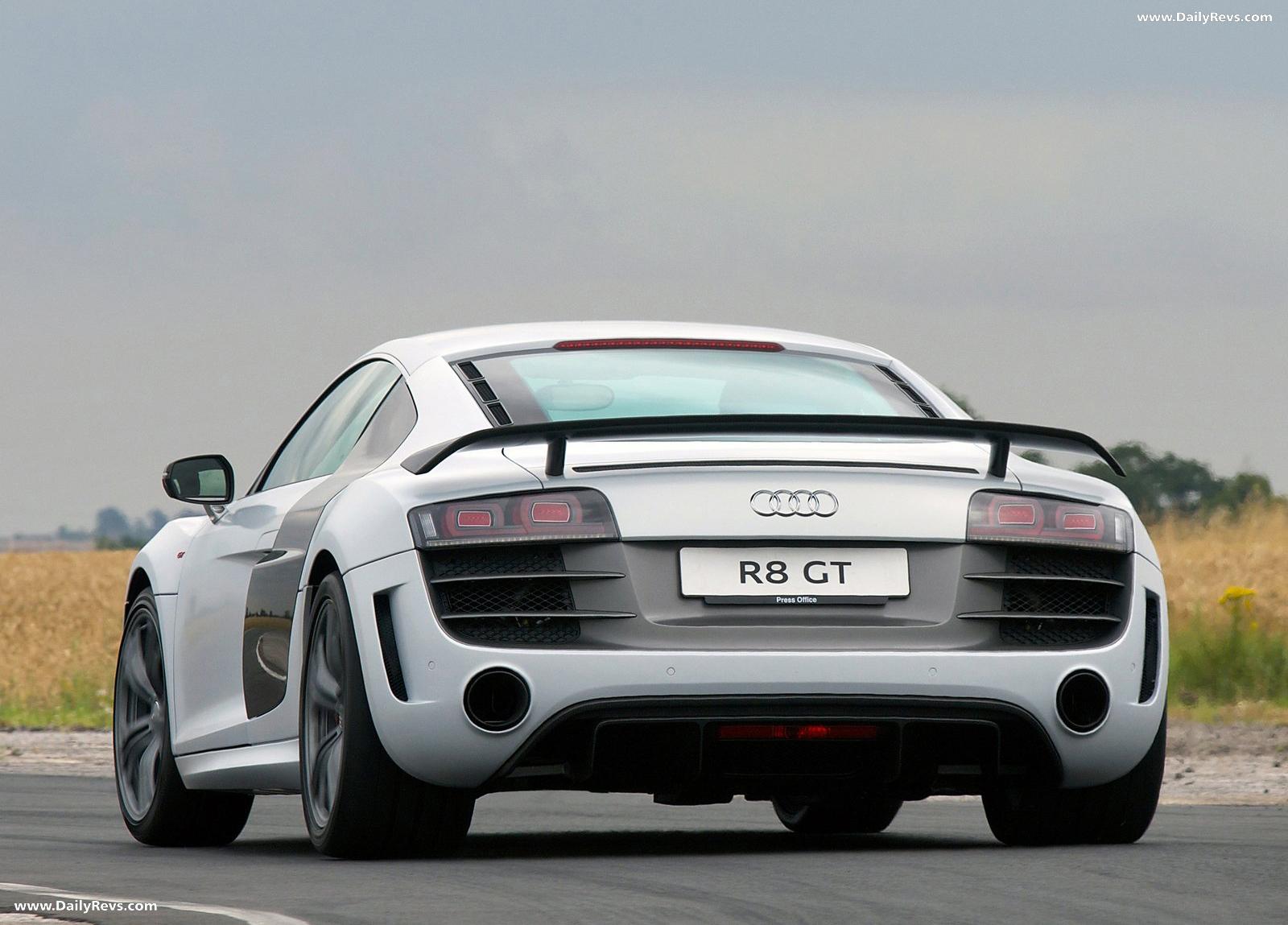 2011 Audi R8 GT - HD Pictures, Videos, Specs ...