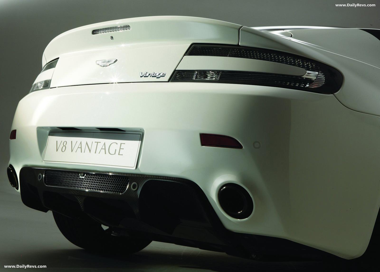 2011 Aston Martin V8 Vantage N420 Dailyrevs