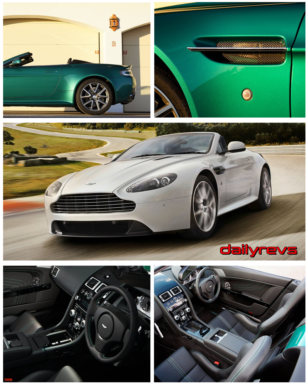 2012 Aston Martin V8 Vantage S Roadster Dailyrevs