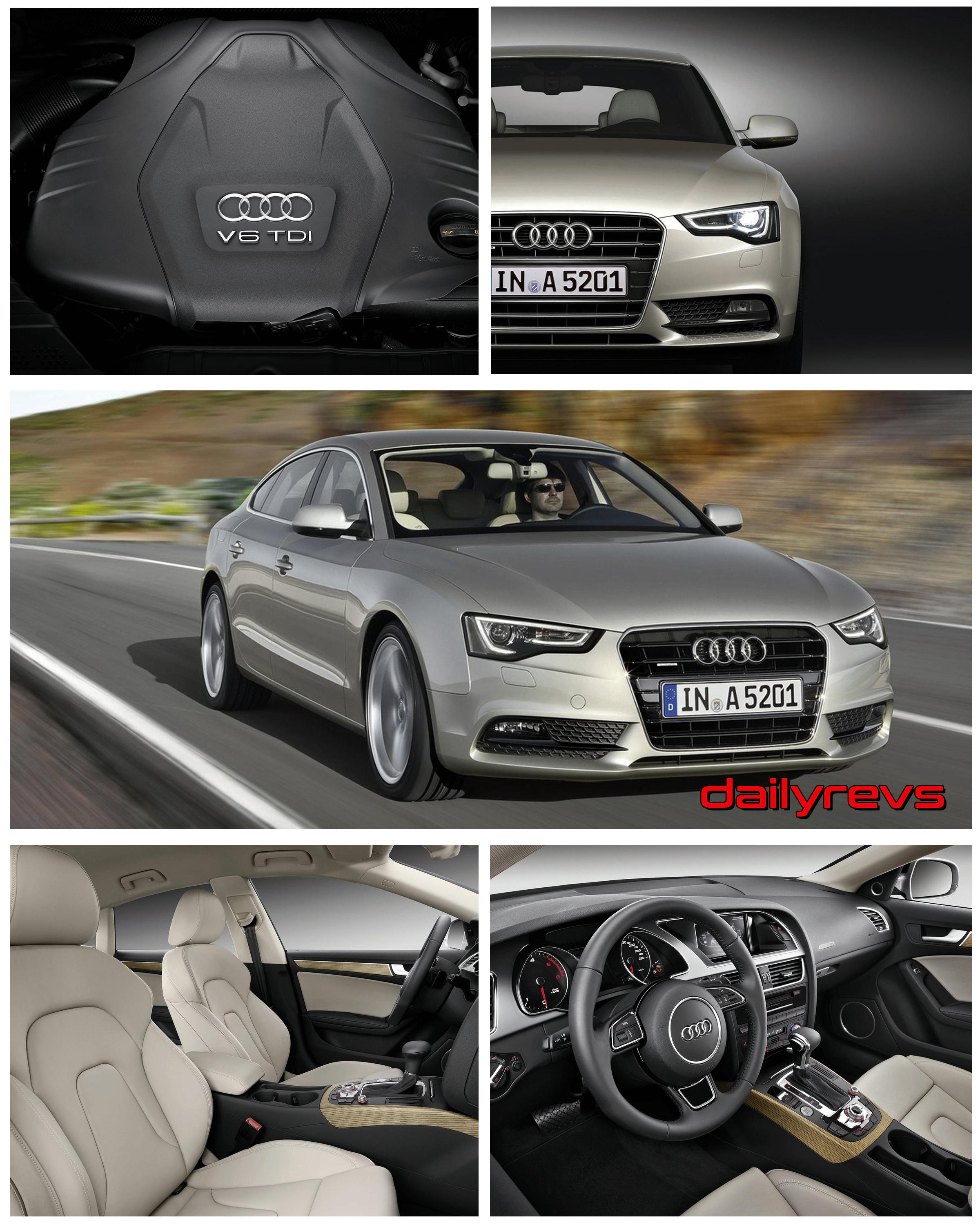 2012 Audi A5 Sportback Hd Pictures Videos Specs Informations Dailyrevs
