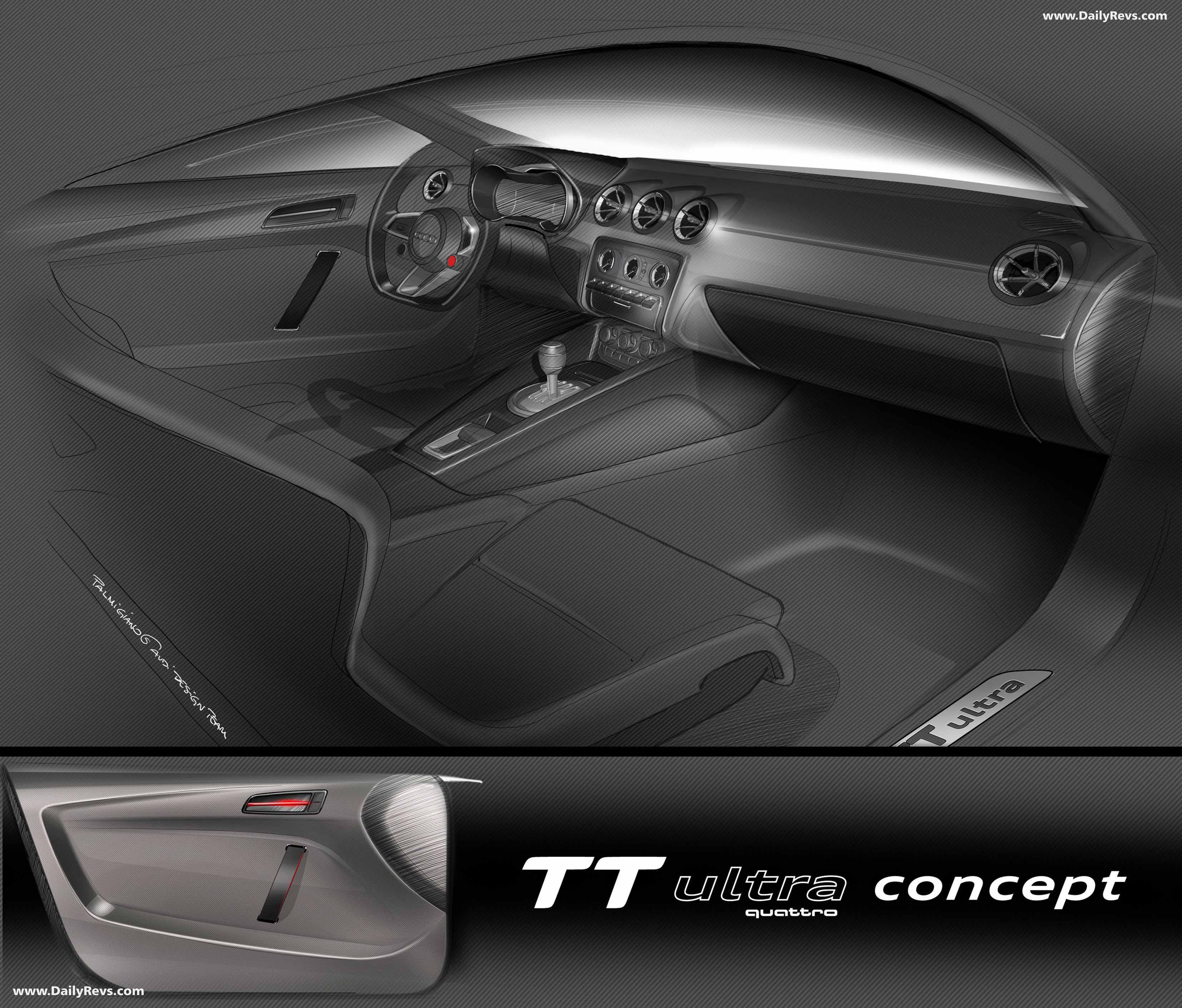 2013 Audi Sport Quattro Concept First Look: 2013 Audi TT Ultra Quattro Concept
