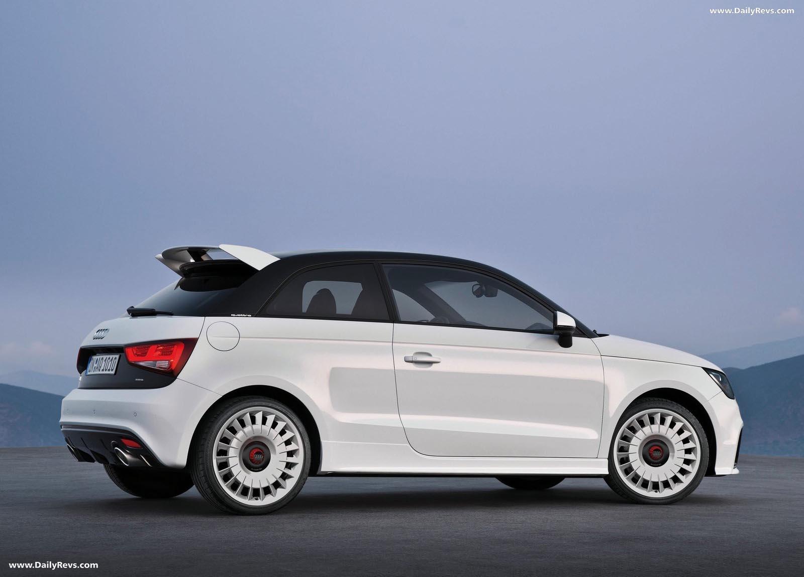 2013 Audi A1 quattro - HD Pictures, Videos, Specs ...
