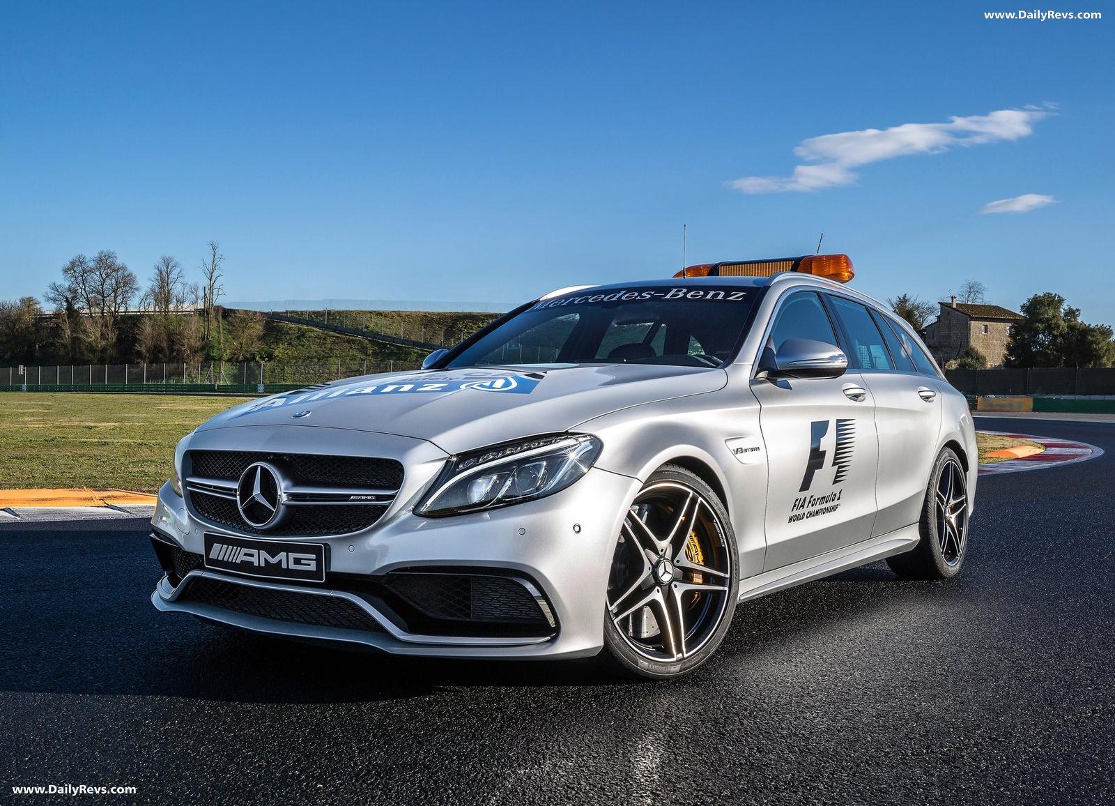 2015 Mercedes-Benz C63 S AMG Estate F1 Medical Car - Dailyrevs