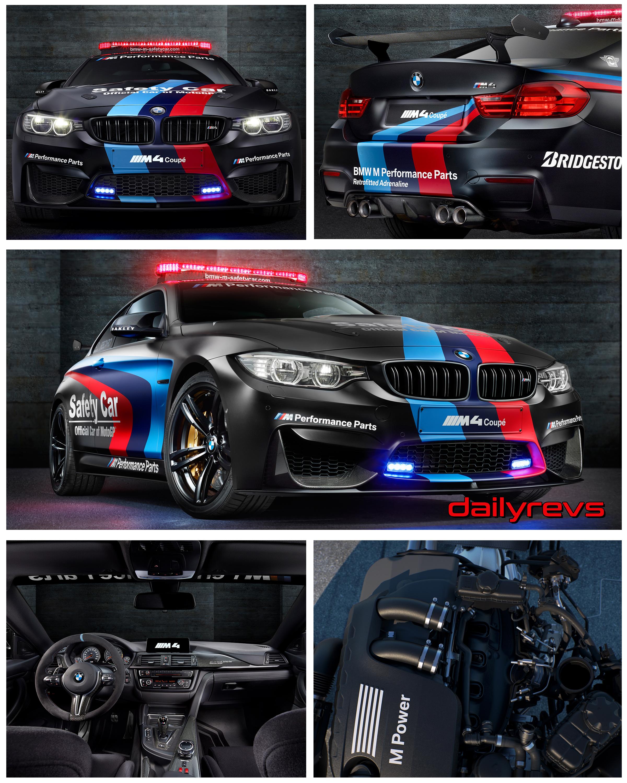 2015 Bmw M4 Coupe Motogp Safety Car Dailyrevs