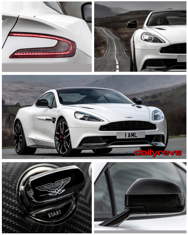 2015 Aston Martin Vanquish Carbon White Dailyrevs