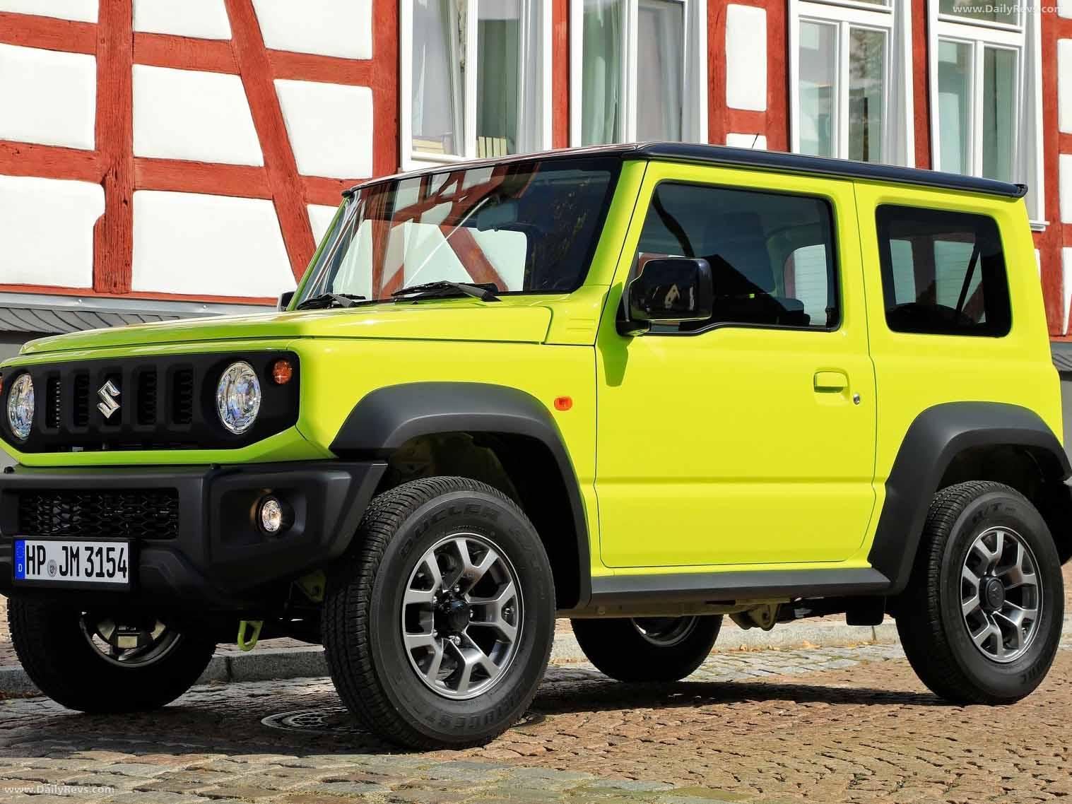 2019 Suzuki Jimny - HD Pictures, Videos, Specs ...