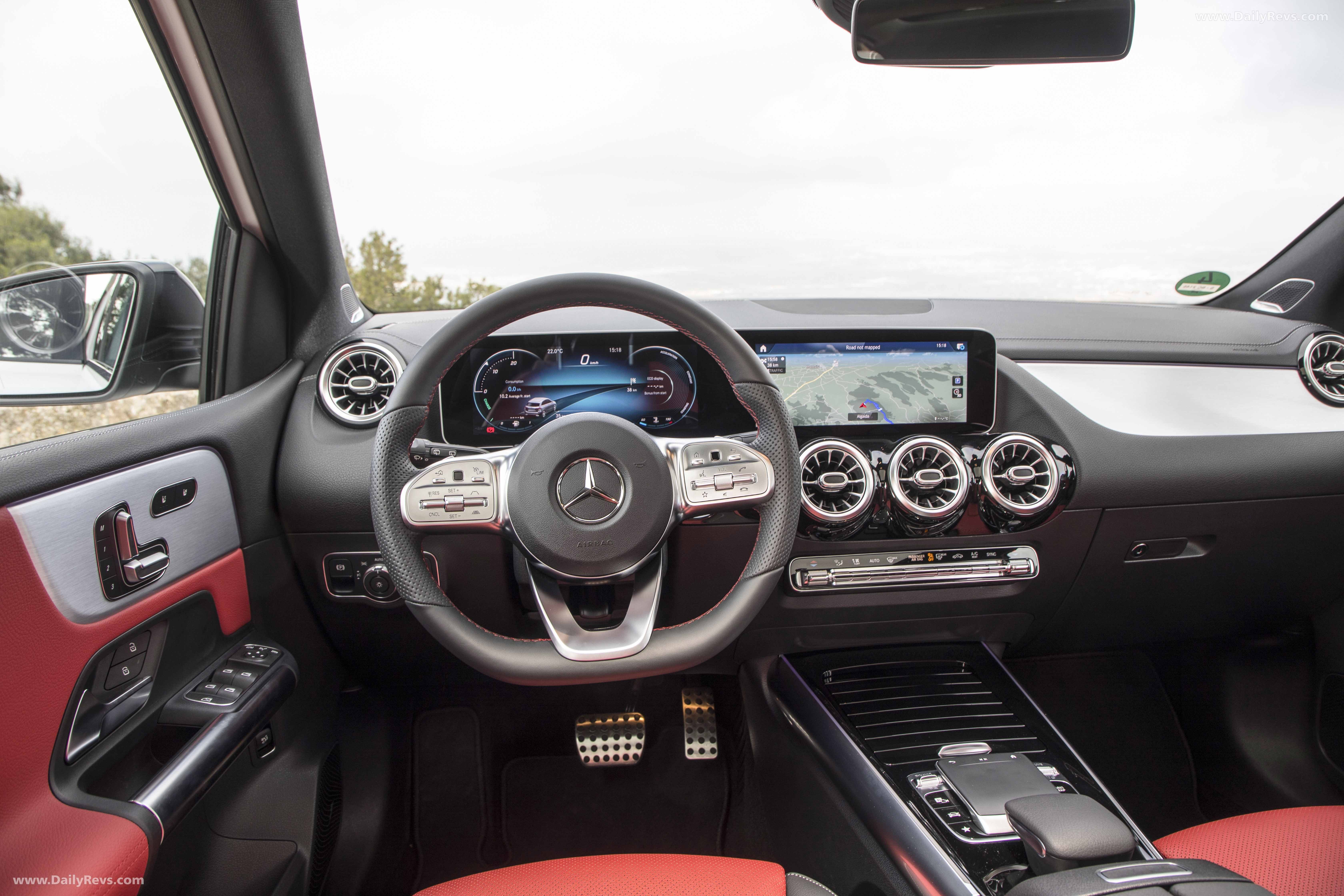 Mercedes Benz stop vehicle shift to p