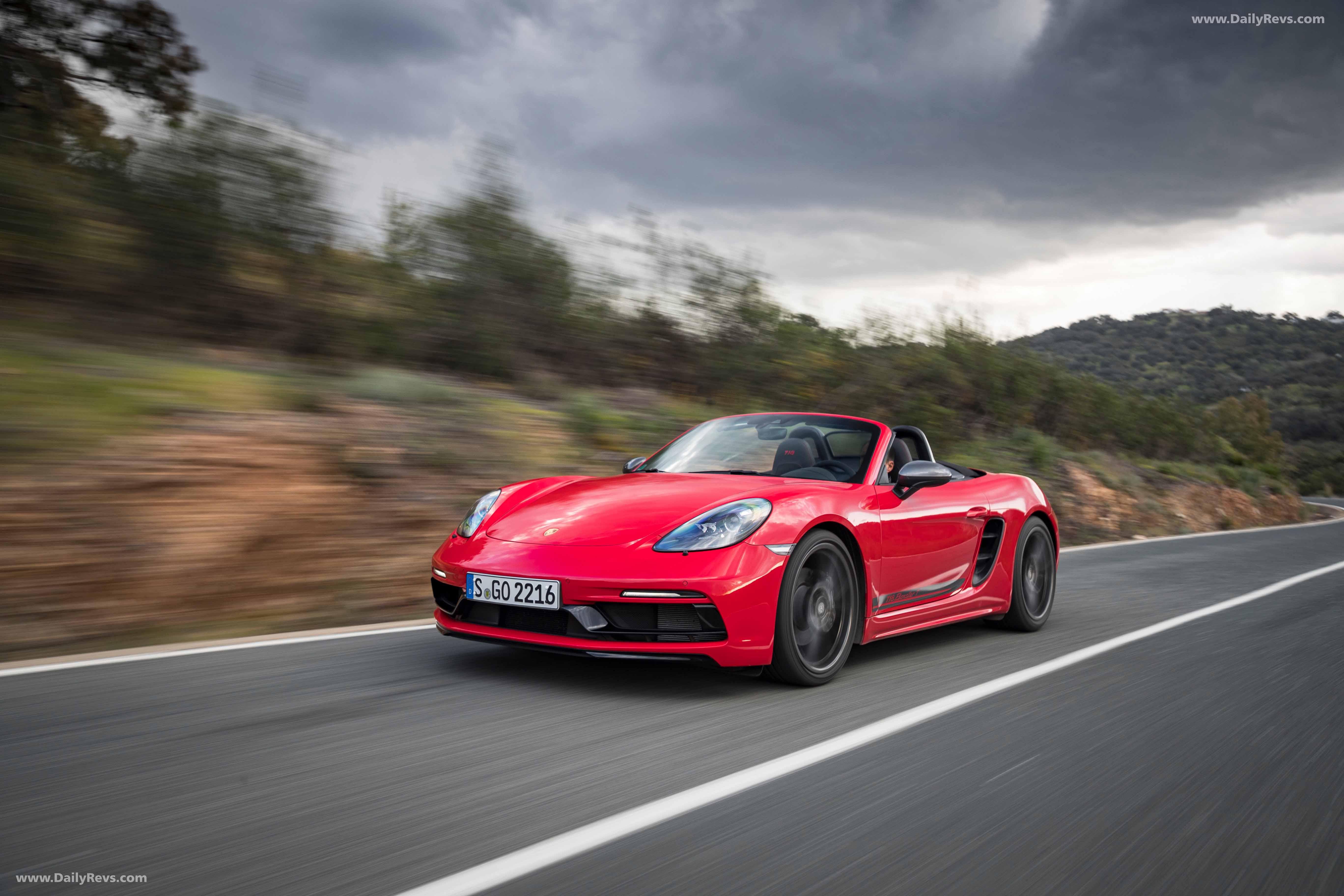 2019 Porsche 718 Boxster T - HD Pictures,Specs,information ...