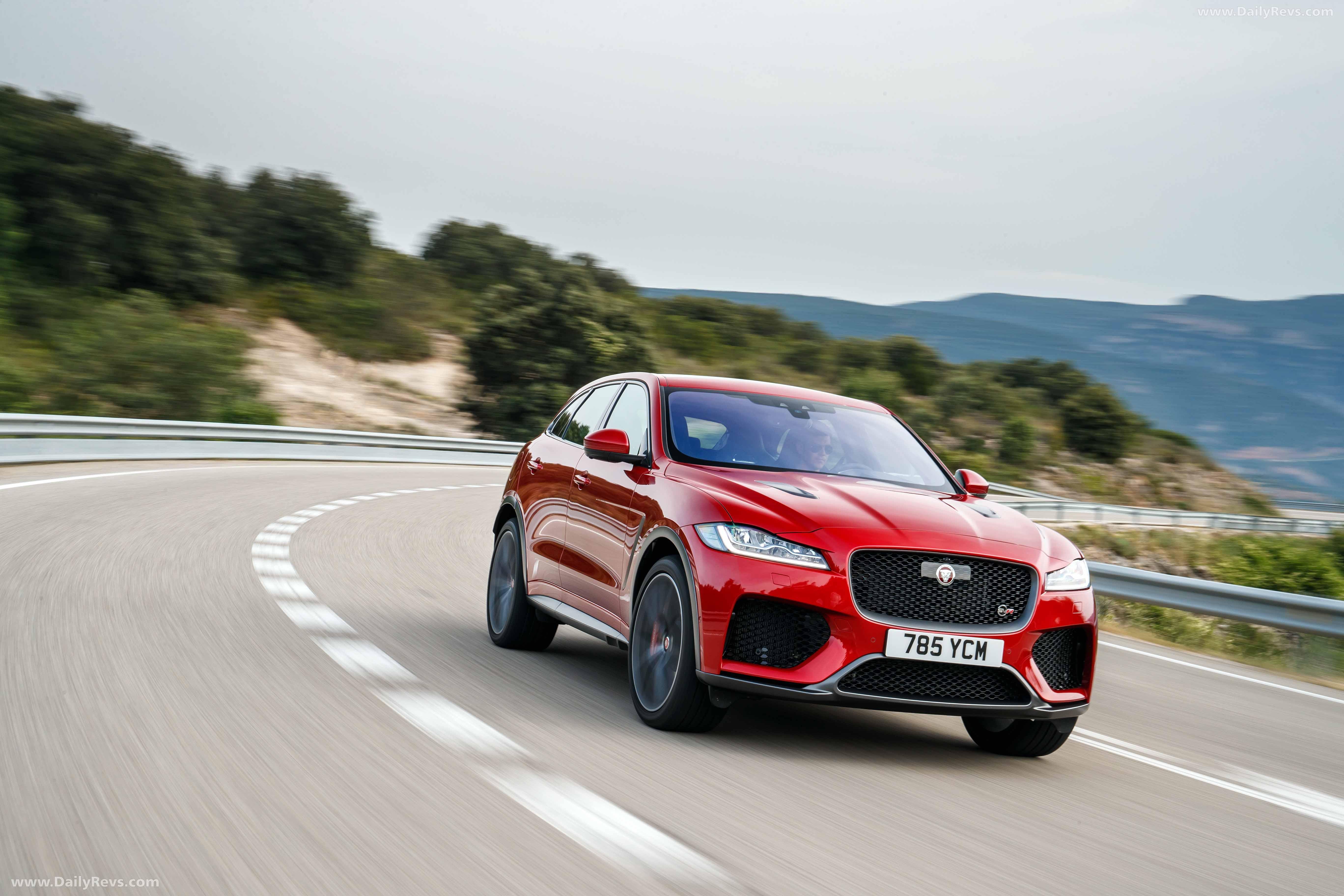 2019 Jaguar F-Pace SVR - HD Pictures, Videos, Specs ...