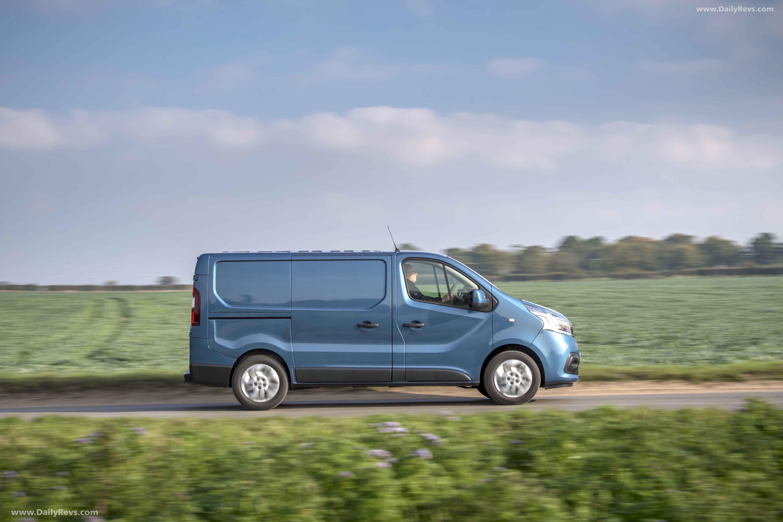 2019 Renault Trafic UK - Dailyrevs