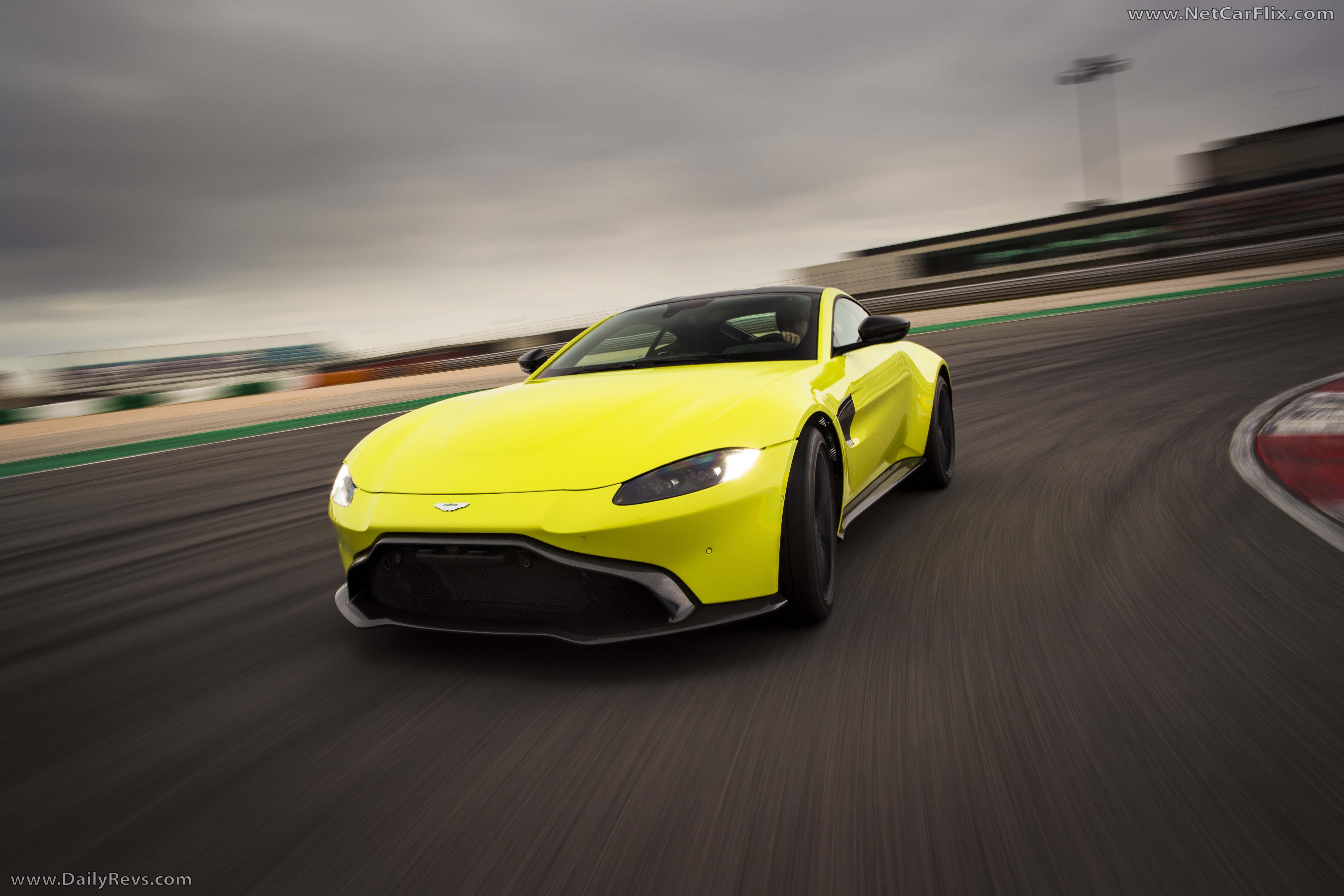 2019 Aston Martin Vantage Lime Essence Hd Pictures Videos Specs Information Dailyrevs