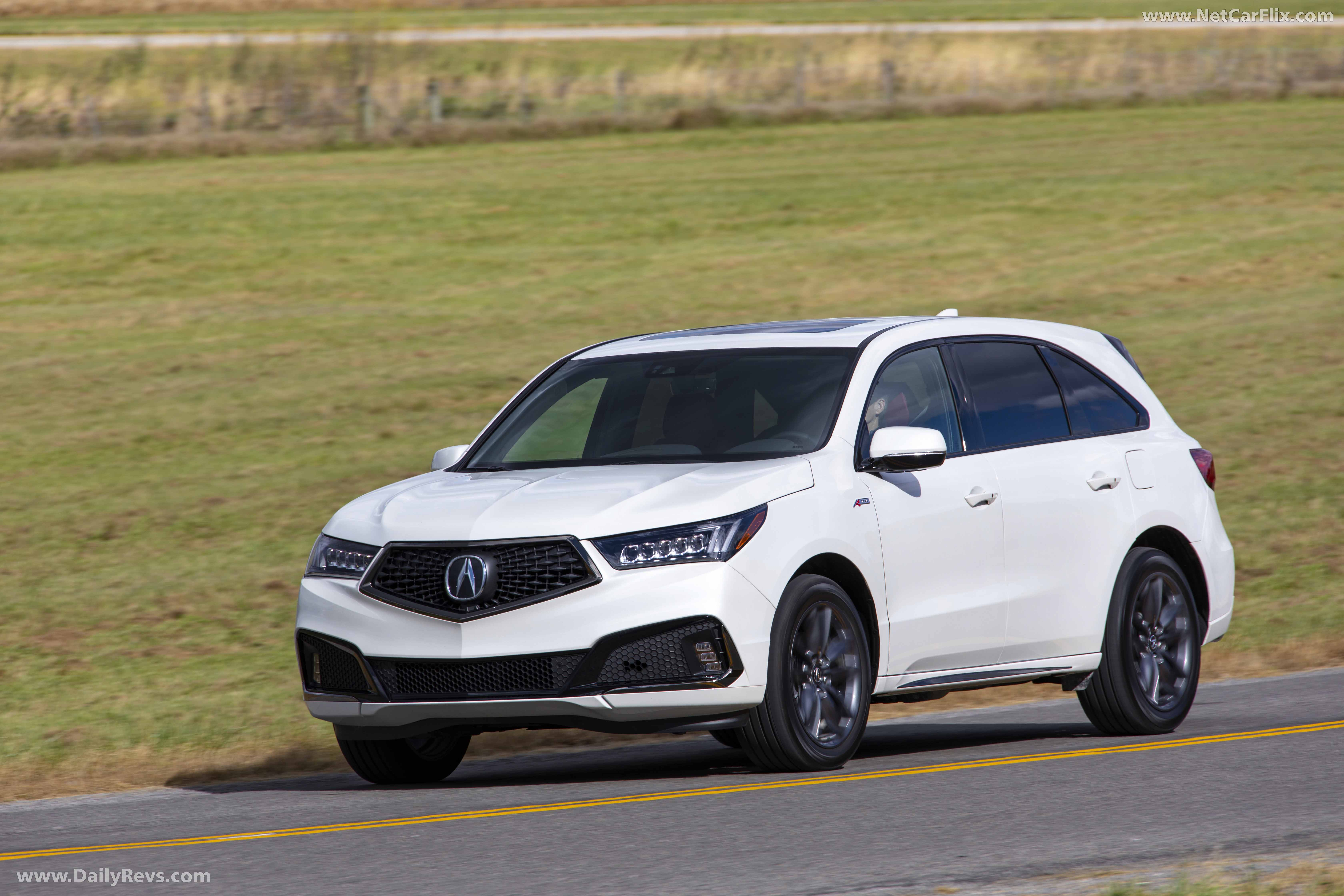 2019 acura mdx a-spec - hd pictures  videos  specs  u0026 information