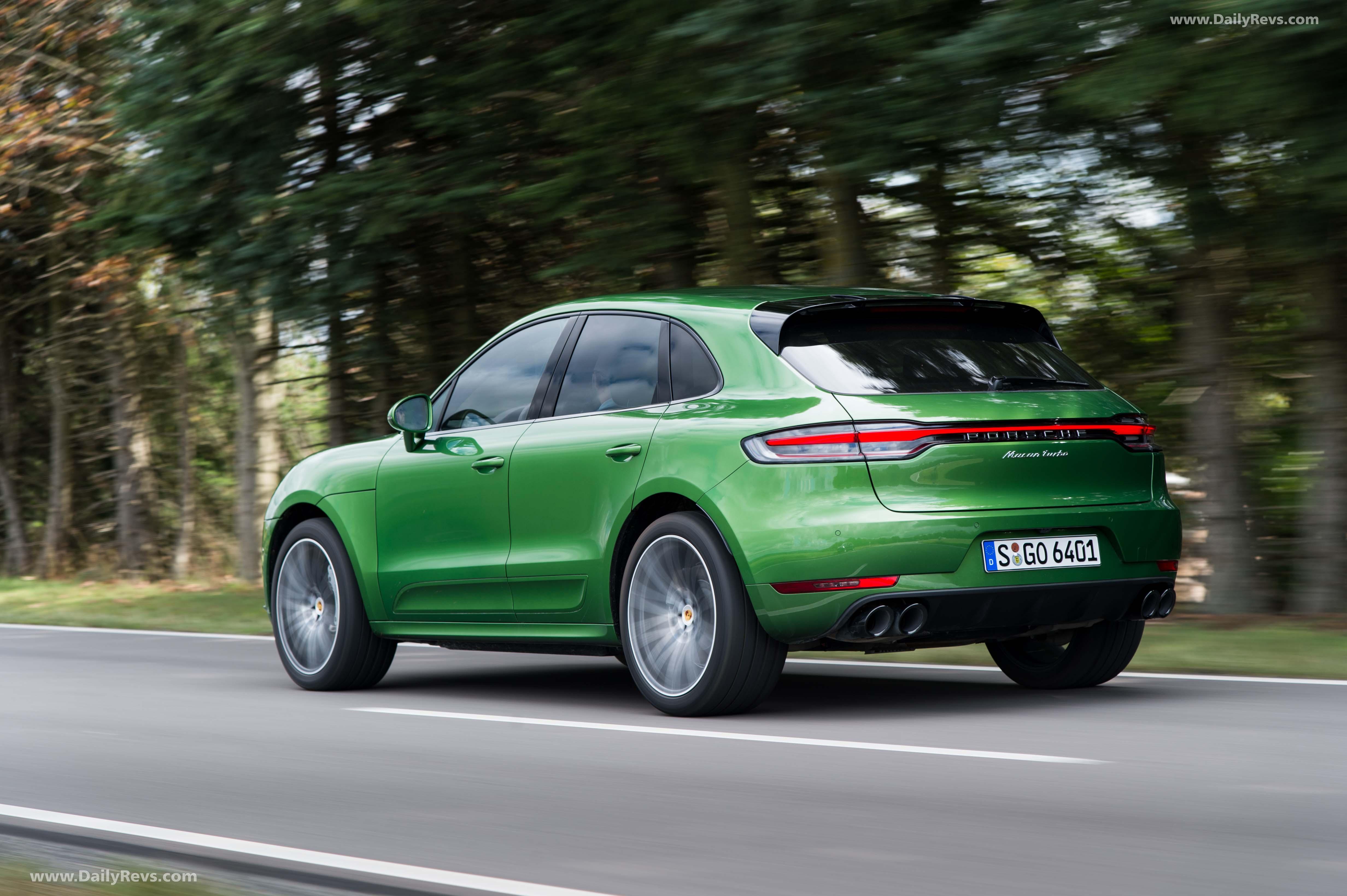 2019 Porsche Macan Turbo - HQ Pictures, Specs, Information & Videos - Dailyrevs