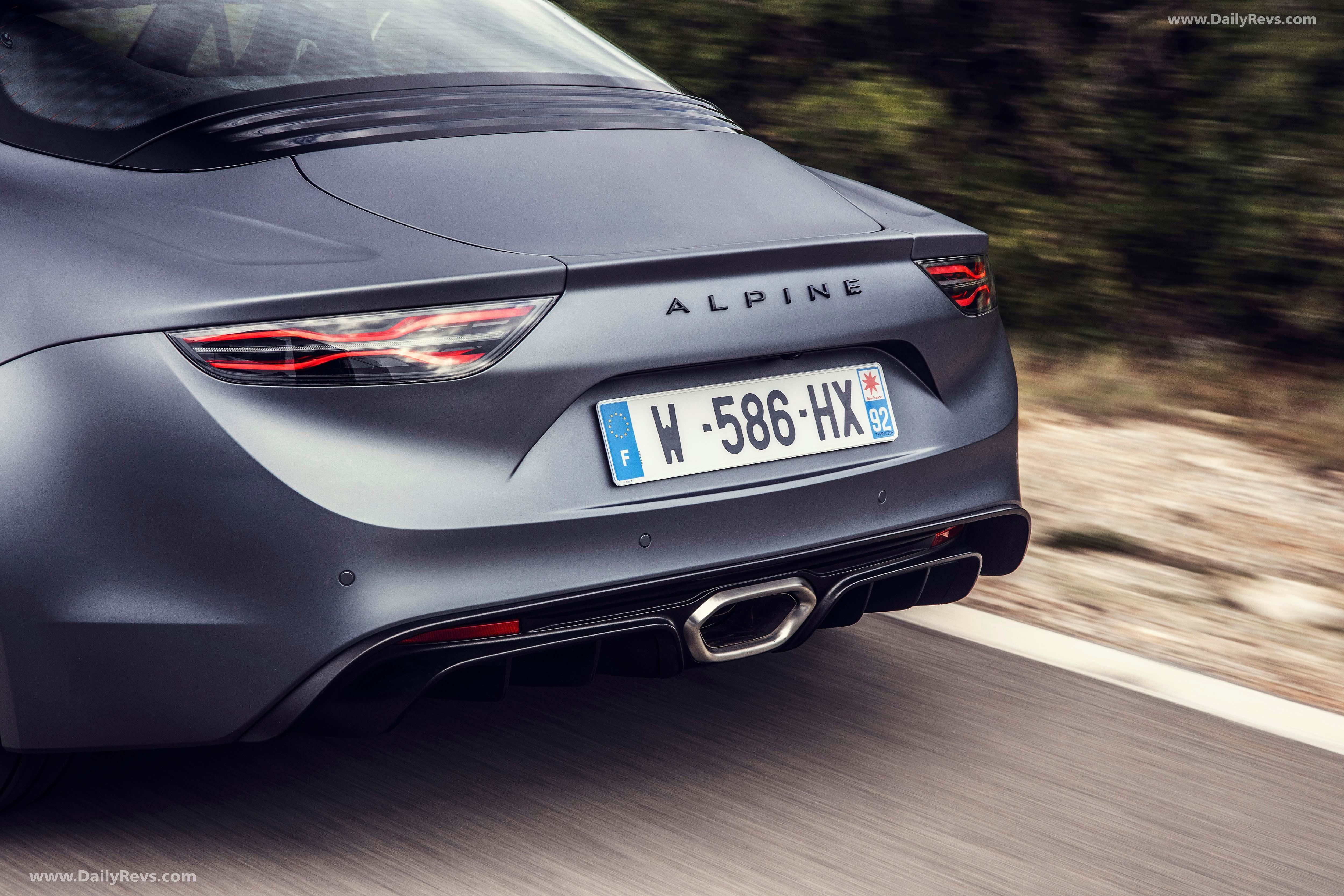 2020 Alpine A110S full