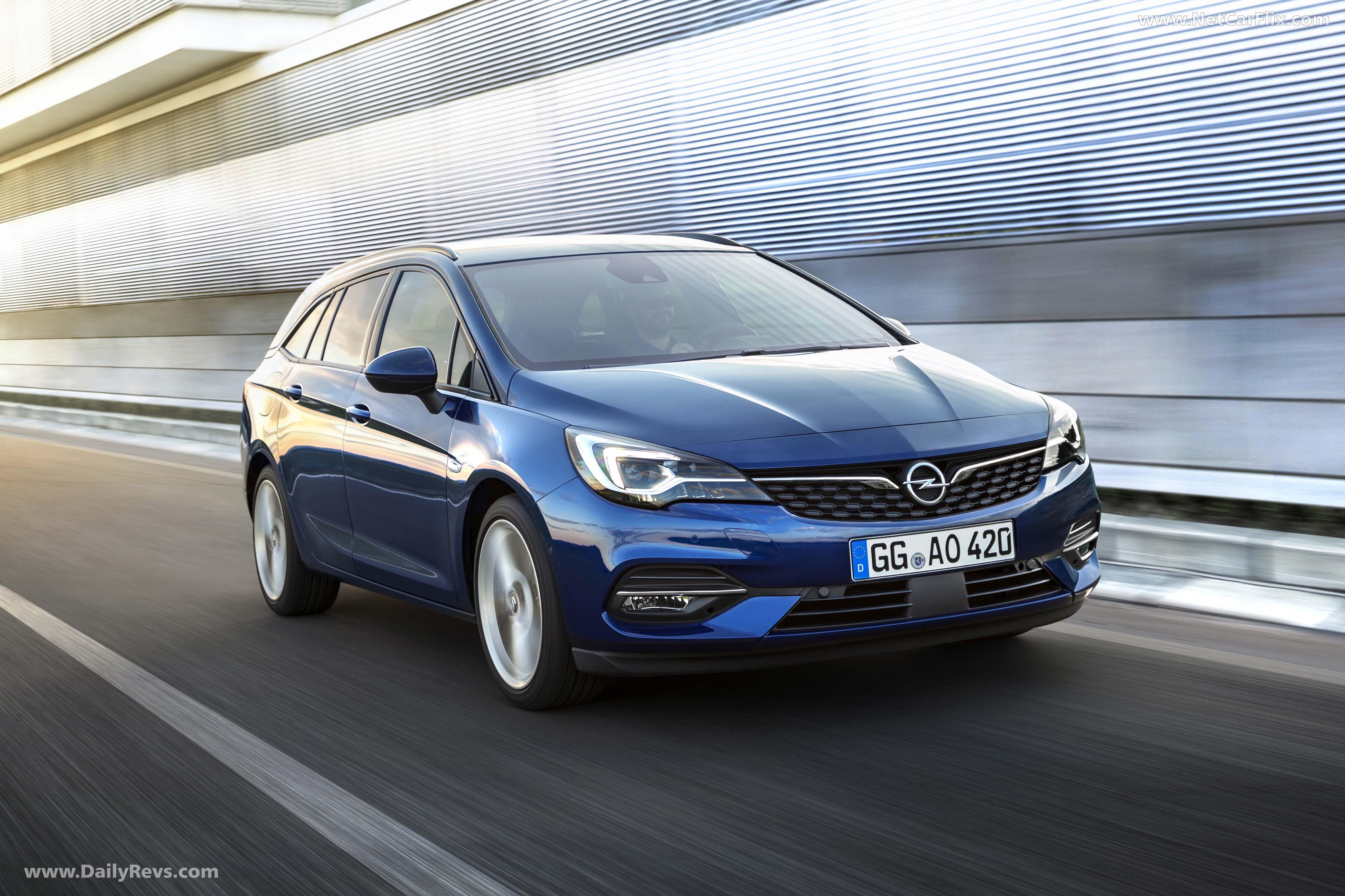 2020 Opel Astra Sports Tourer full