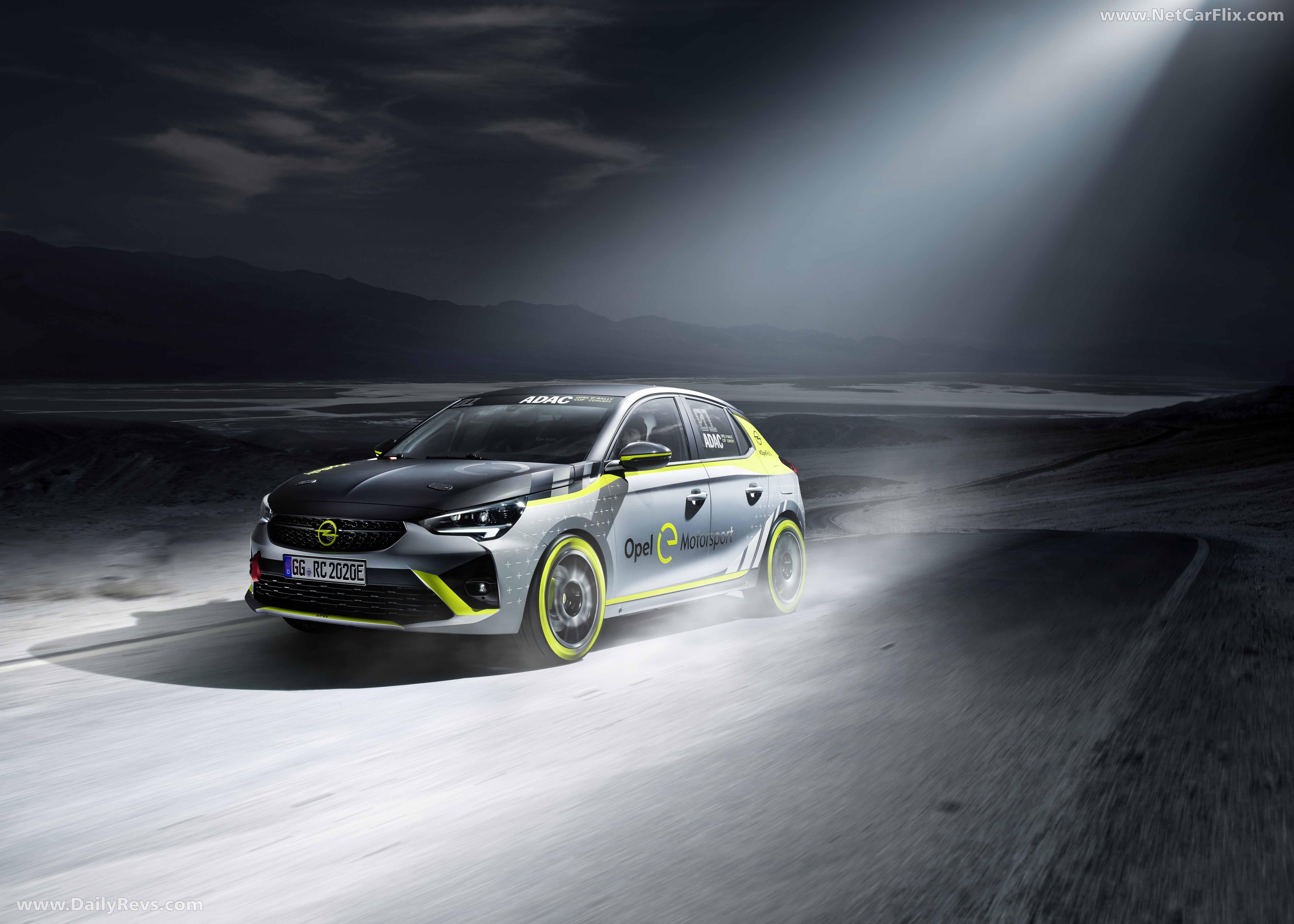 2020 Opel Corsa-e Rally full