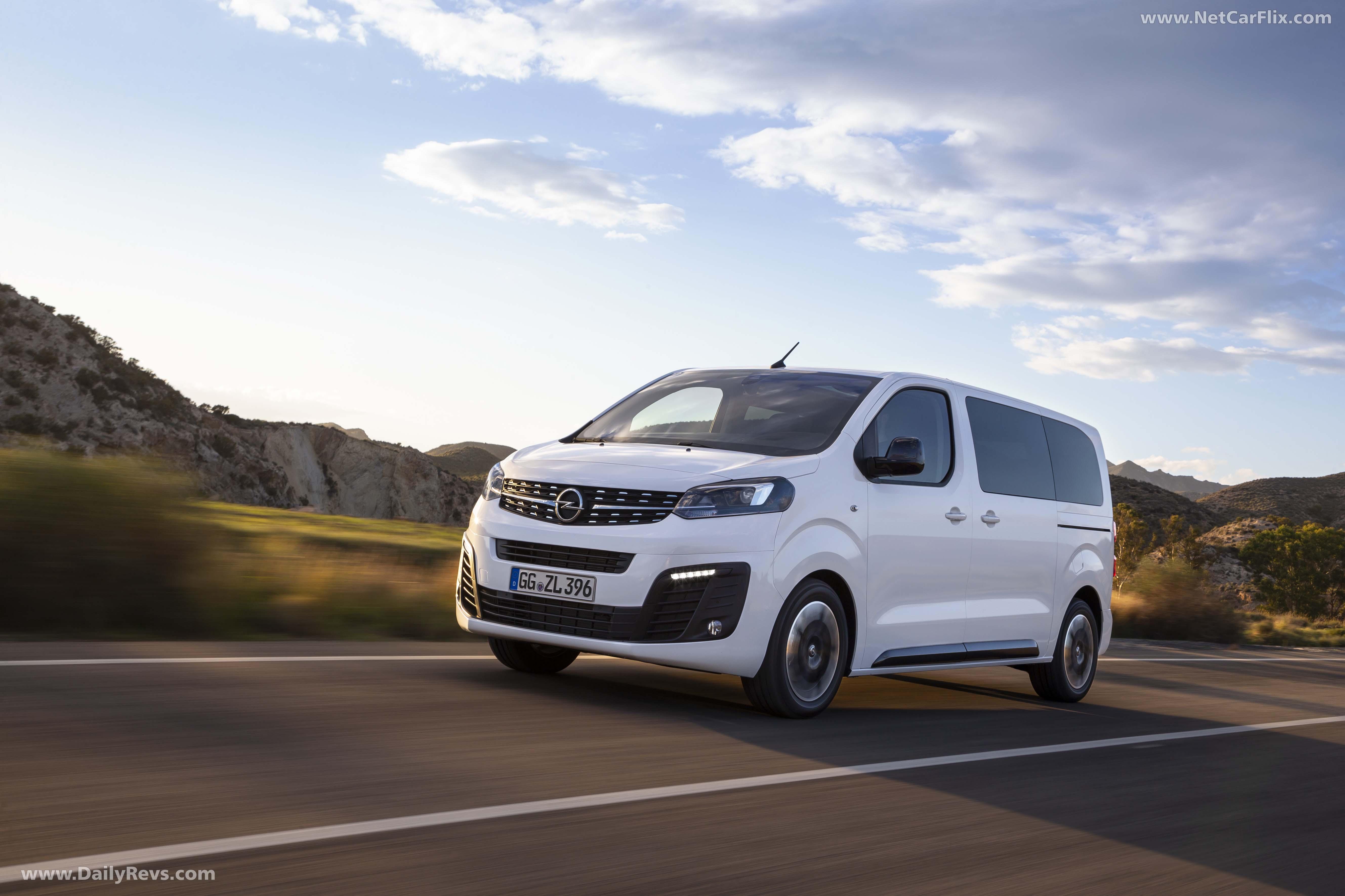 2020 Opel Zafira Life full