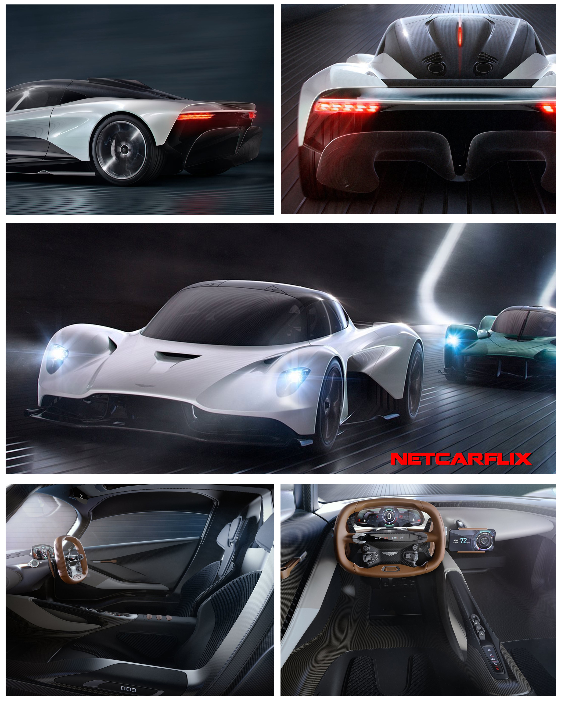 Aston Martin Valkyrie Rear: 2019 Aston Martin AM-RB 003 Concept