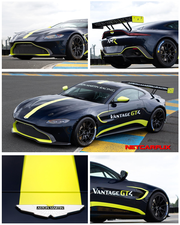 2019 Aston Martin Vantage GT4