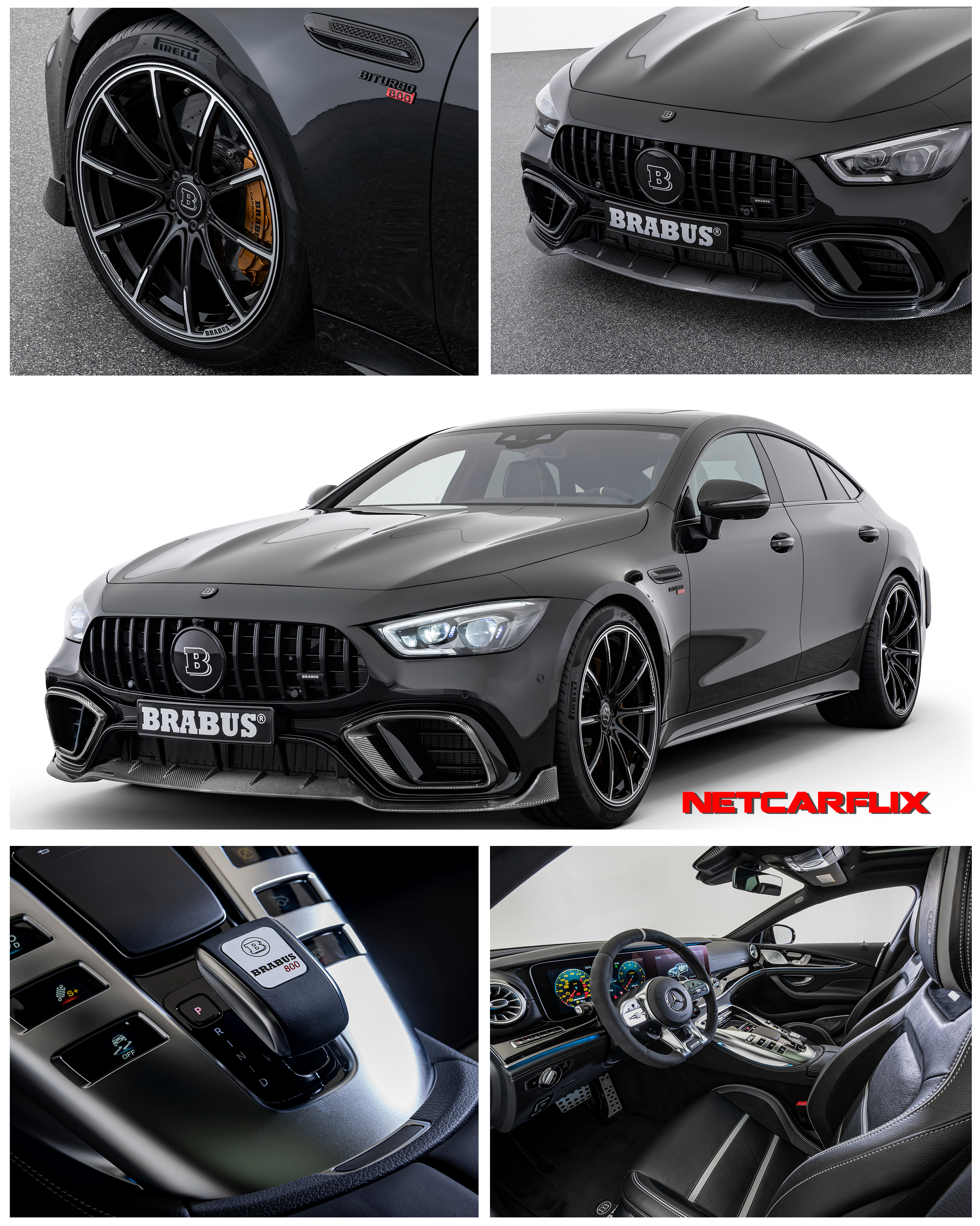 2019 Brabus 800 Based On The Mercedes-AMG GT 63 S -HQ