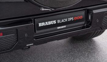 2019 Brabus Black OPS 800 full