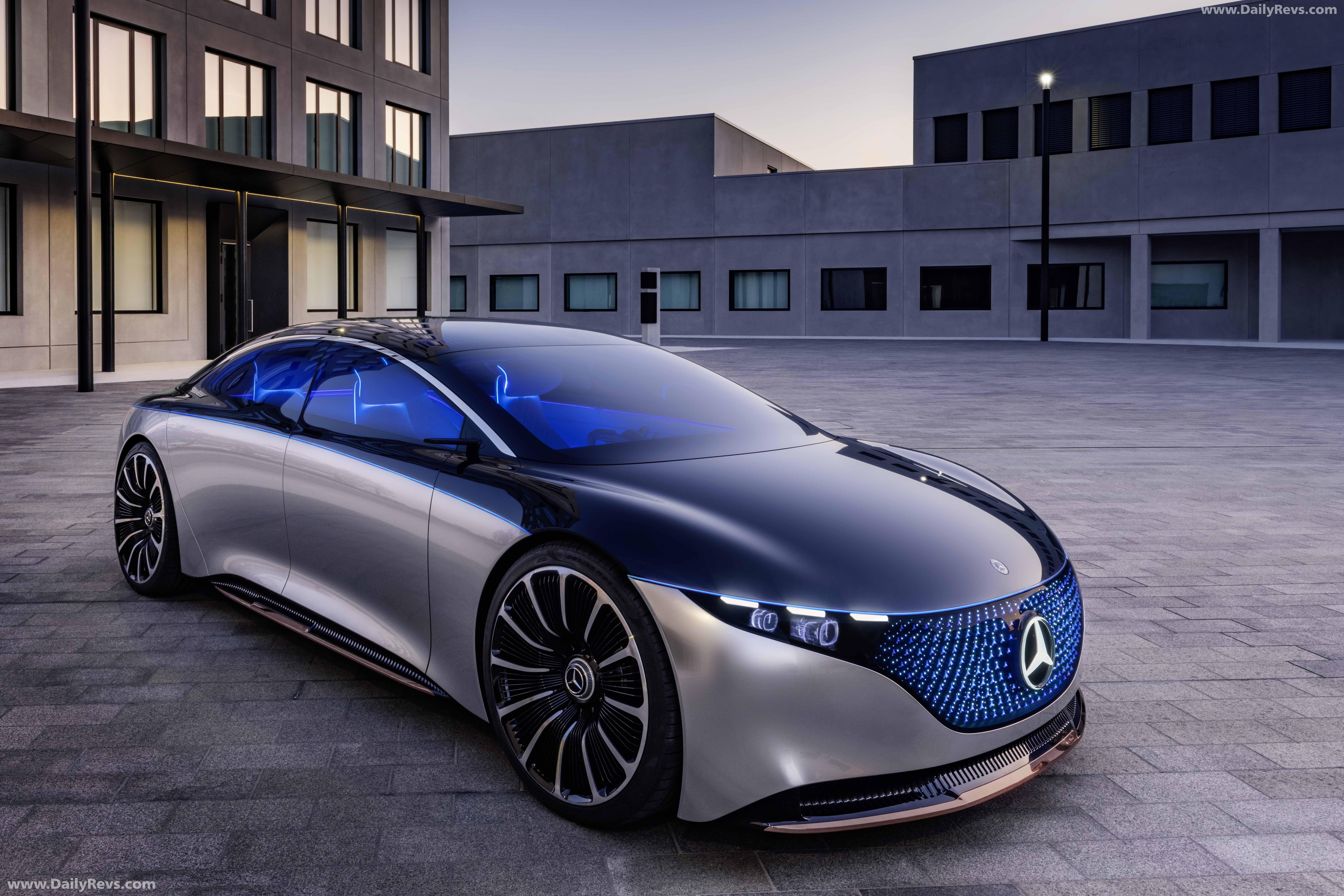 2019 Mercedes-Benz Vision EQS Concept - HD Pictures ...