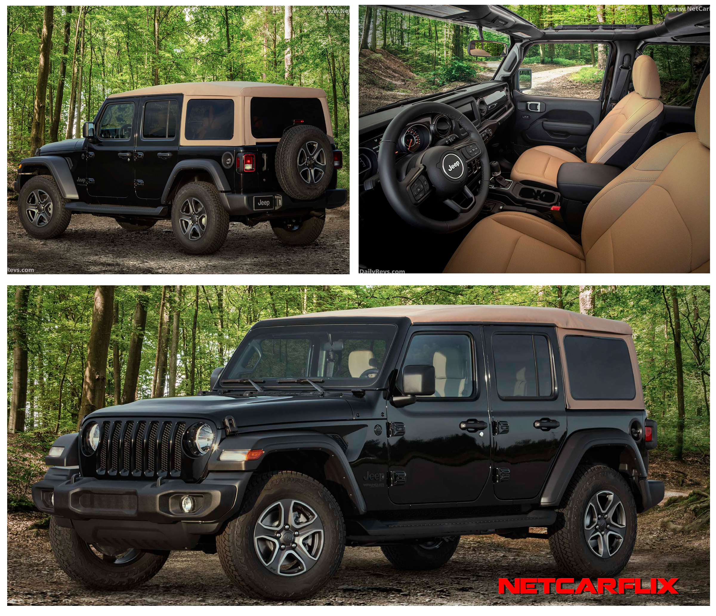2020 Jeep Wrangler Black Tan Edition Hd Pictures Videos Specs Information Dailyrevs
