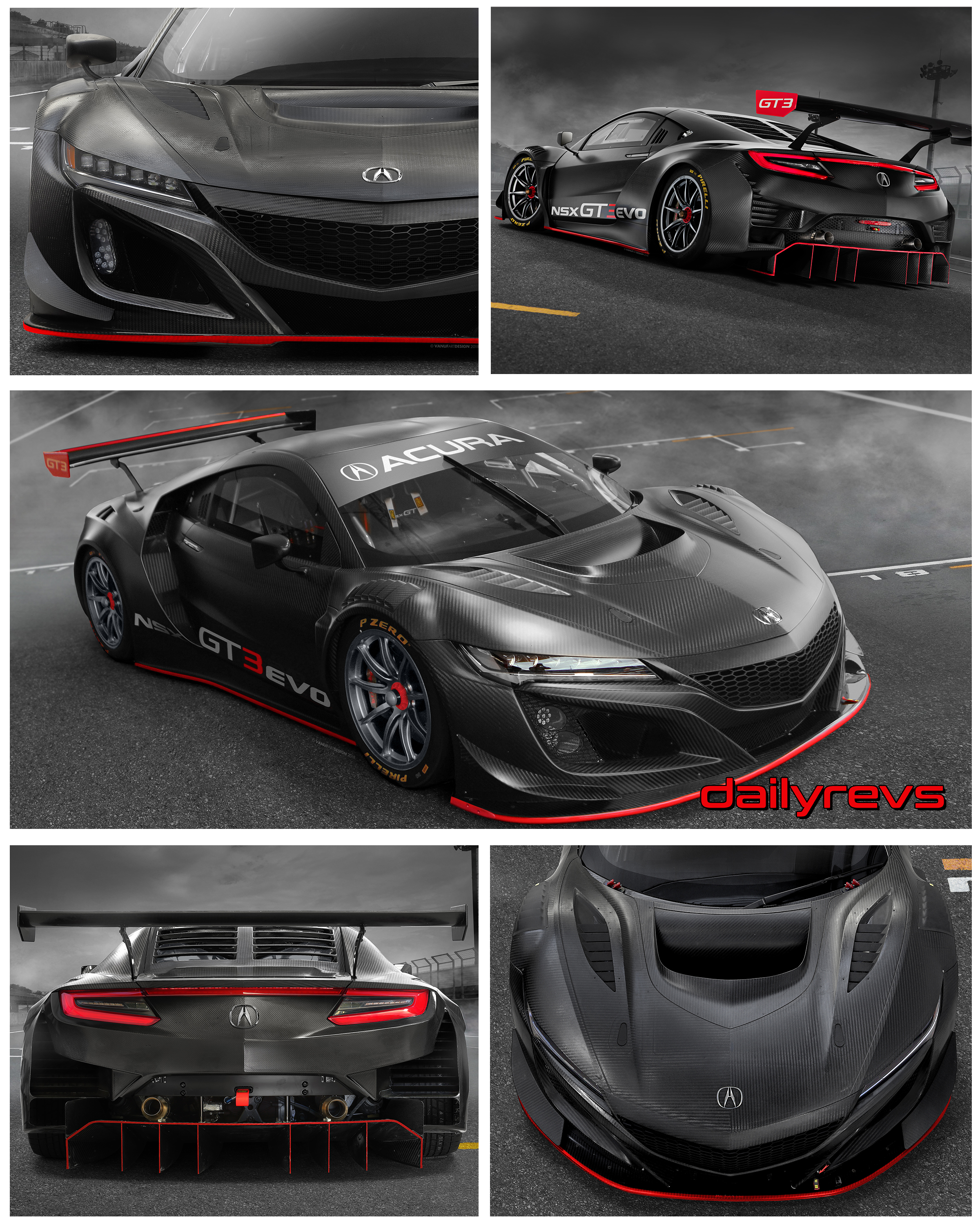 2019 Acura Nsx Gt3 Evo Hd Pictures Videos Specs Informations Dailyrevs