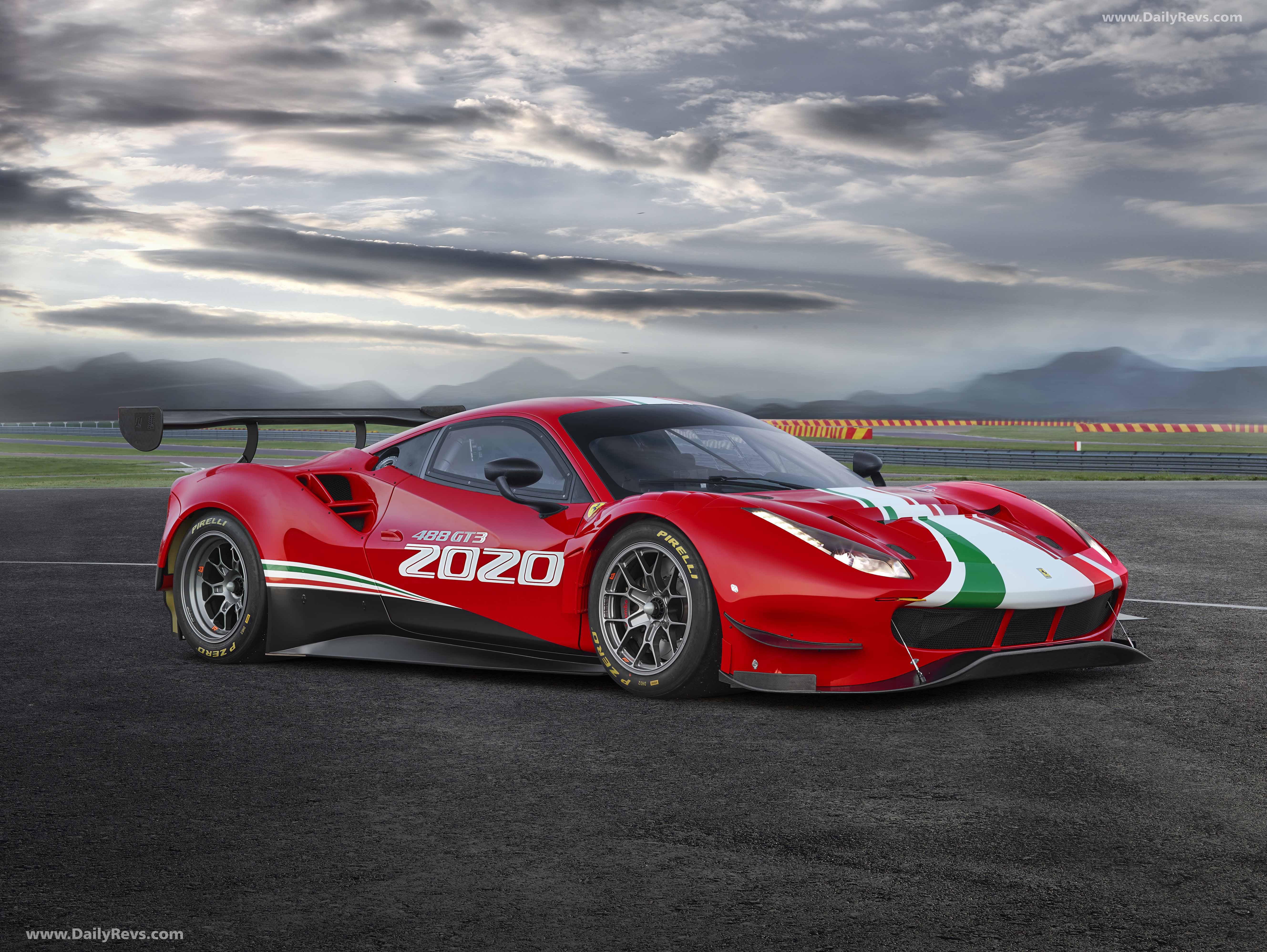 2020 Ferrari 488 GT3 Evo full