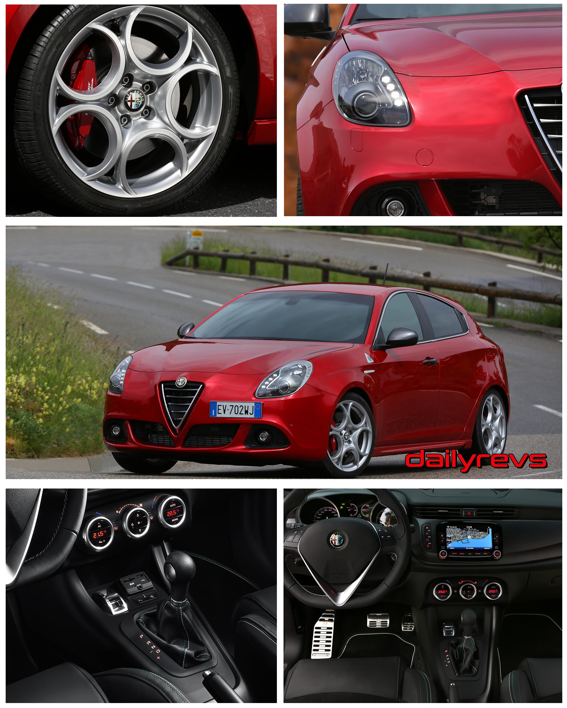 2014 Alfa Romeo Giulietta Quadrifoglio Verde