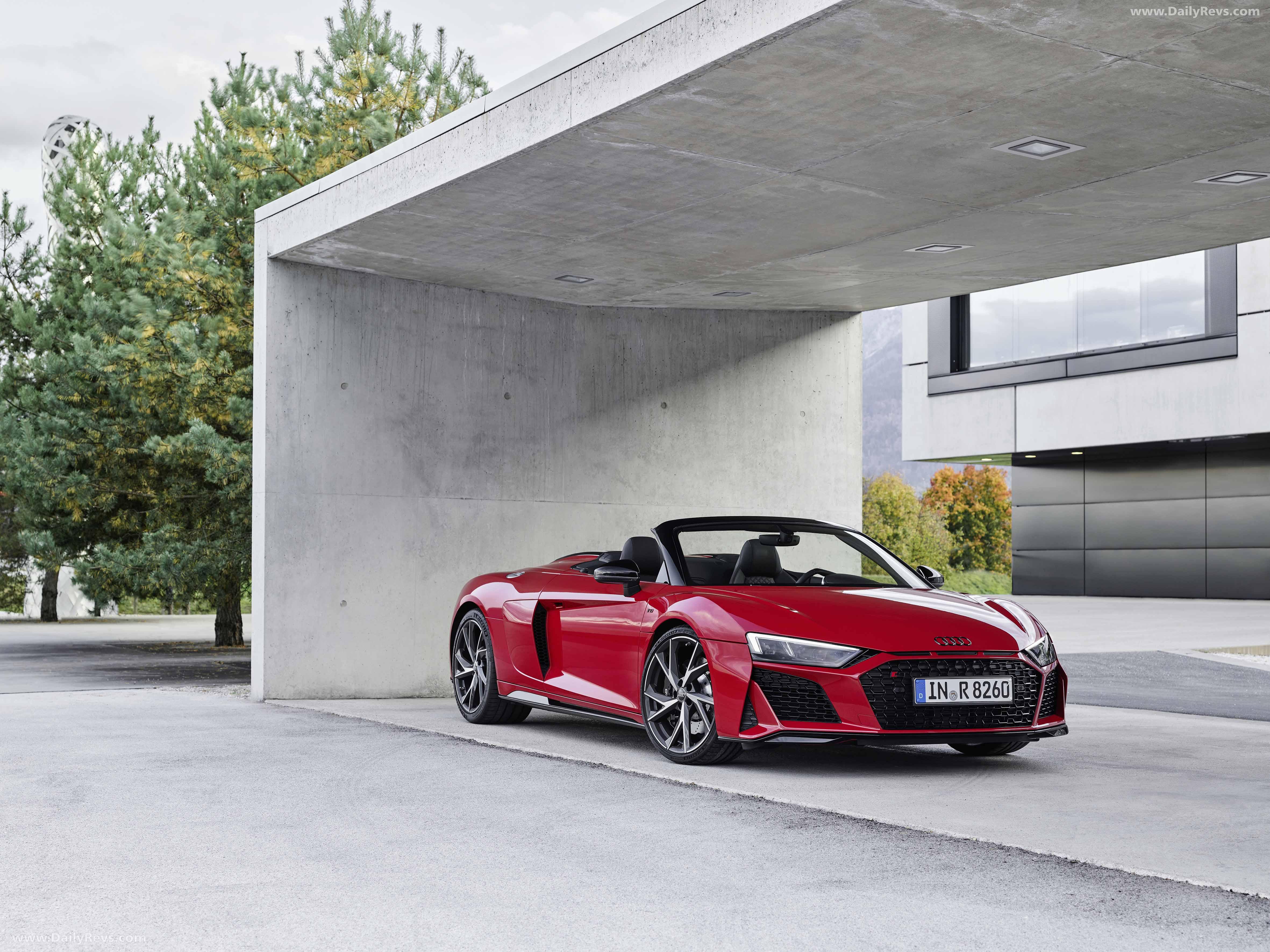 2020 Audi R8 V10 RWD Spyder - Pictures, Images, Photos ...