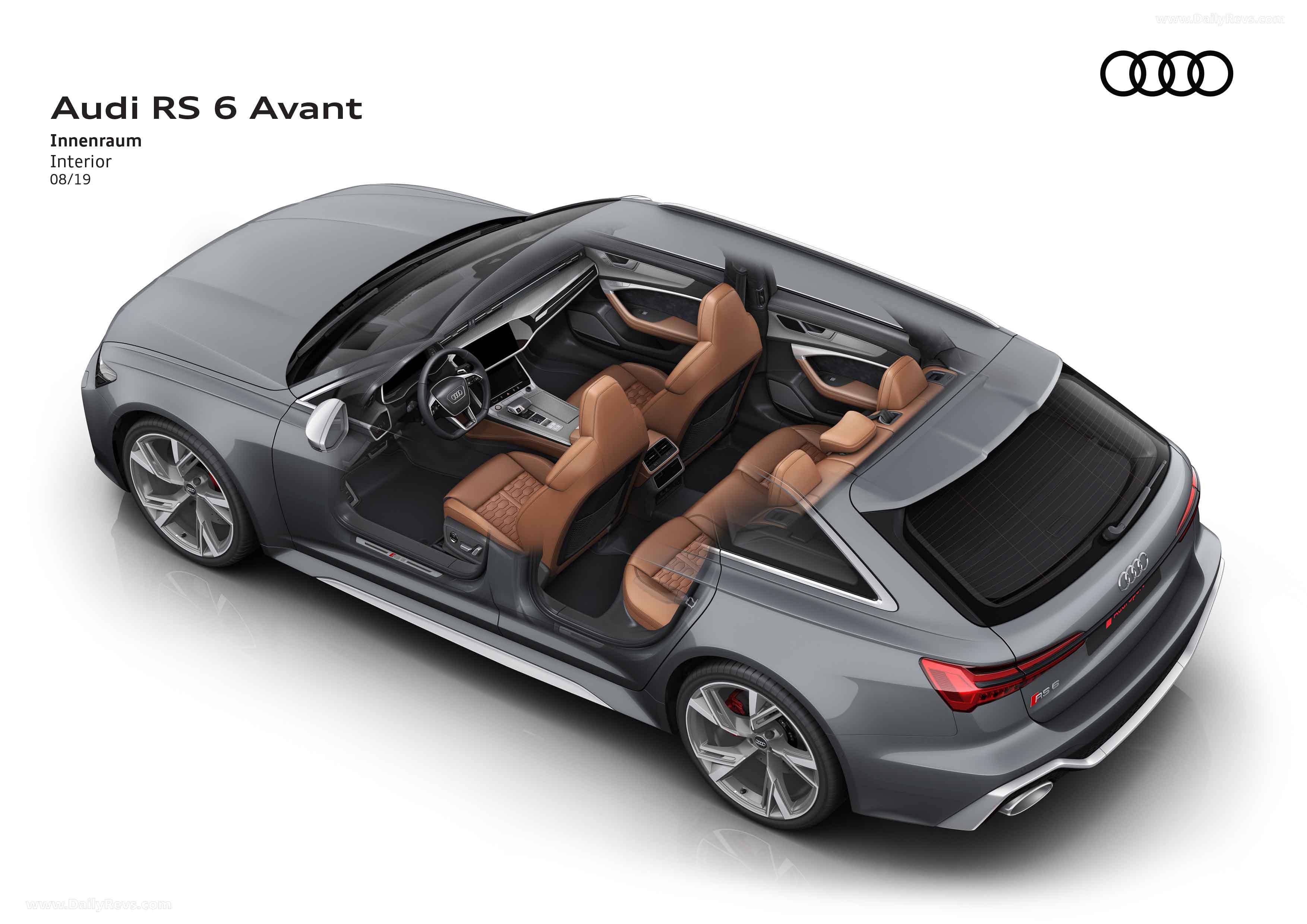 2020 Audi RS6 Avant full