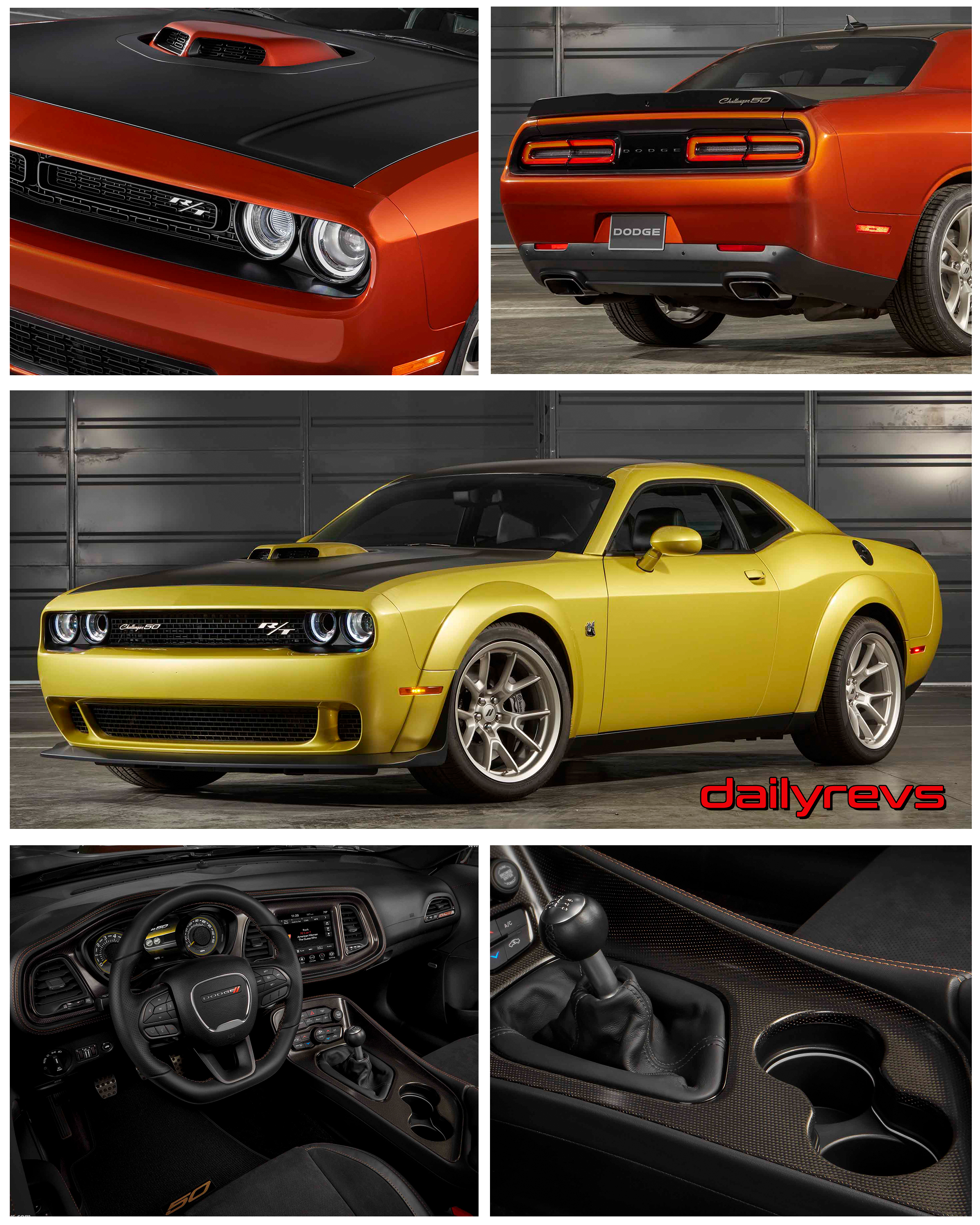 2020 Dodge Challenger Rt 50th Anniversary Edition Hd Pictures Videos Specs Videos Dailyrevs