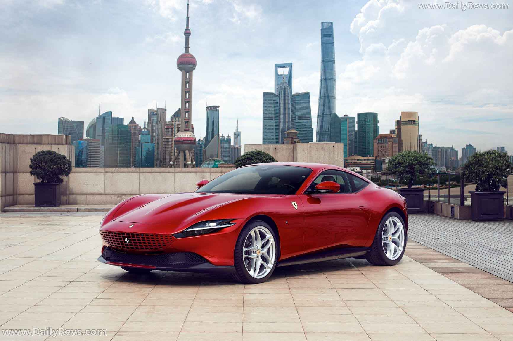2020 Ferrari Roma Hd Pictures Videos Specs Informations Dailyrevs