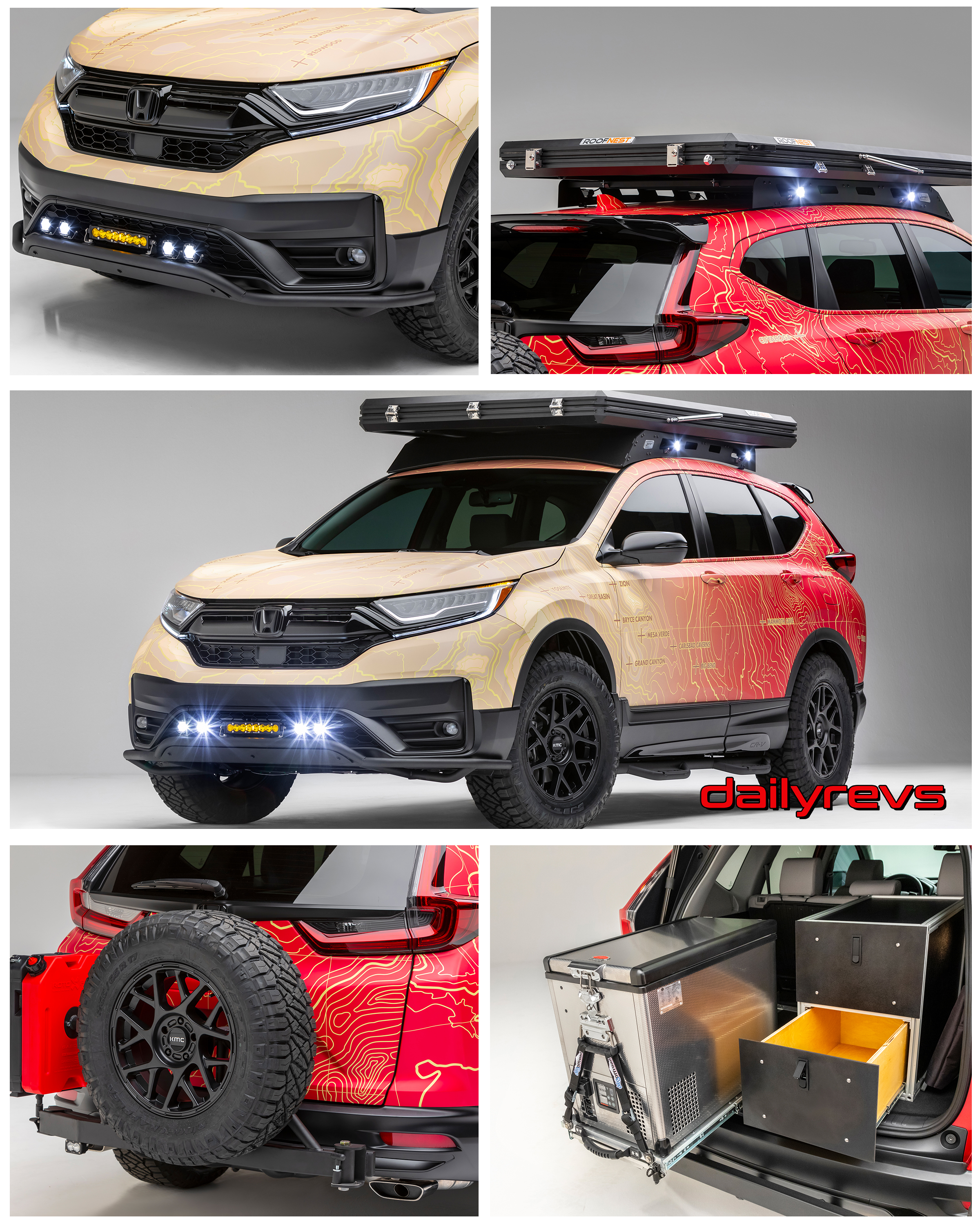 9 Honda CR-V Dream Build by Jsport - HD Pictures, Specs