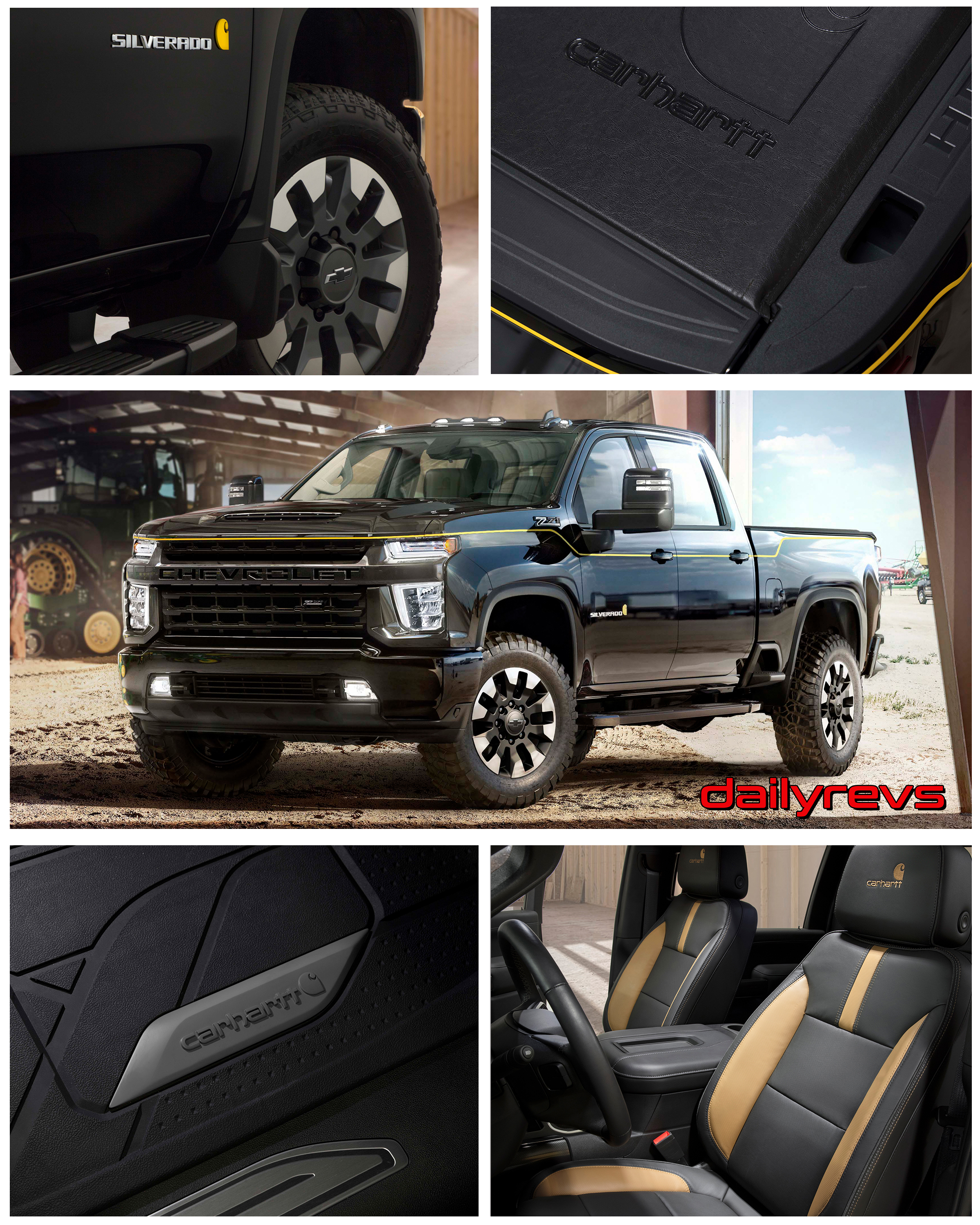 Chevrolet Special Edition Trucks >> 2021 Chevrolet Silverado Hd Carhartt Special Edition Hd