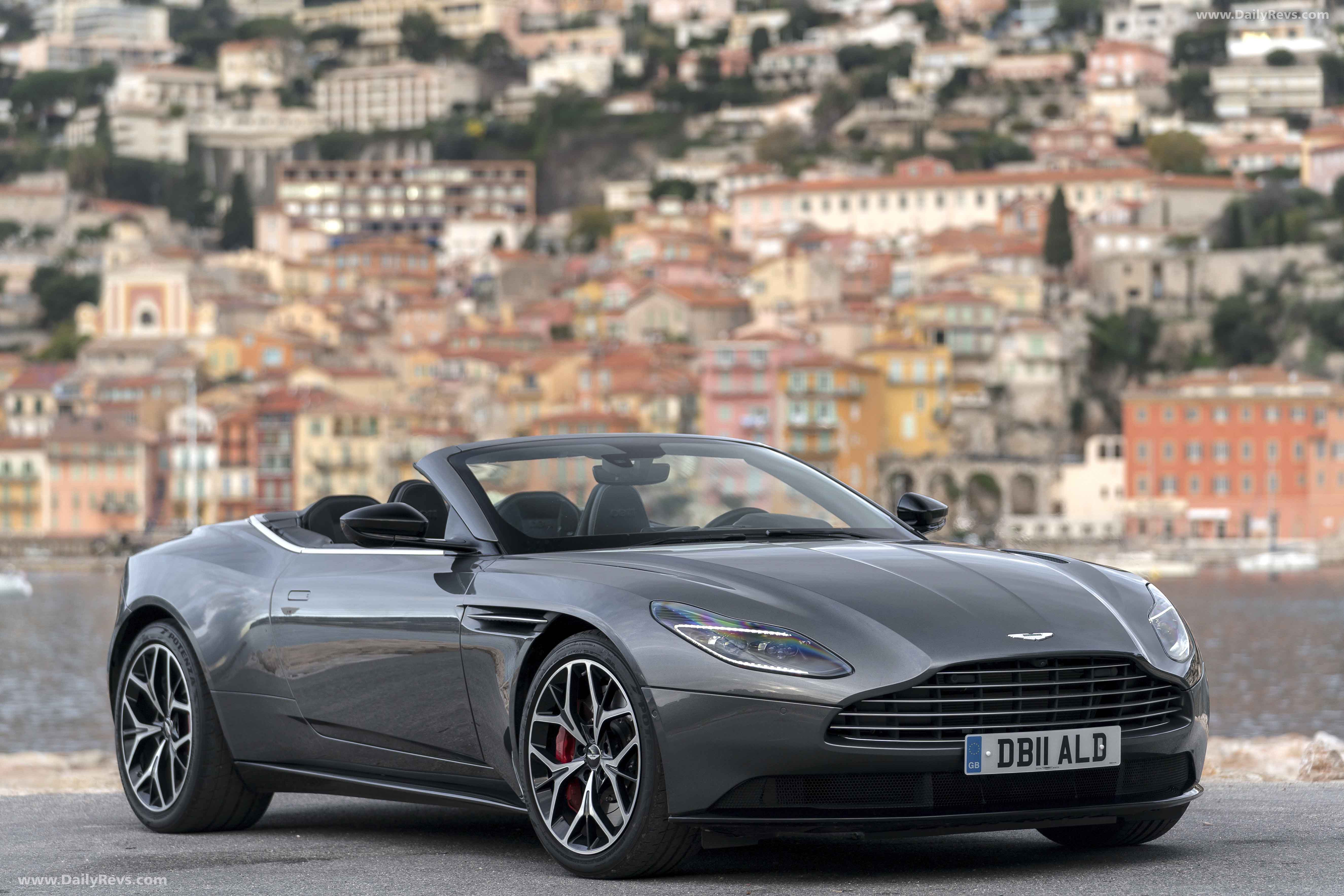 2019 Aston Martin Db11 Volante Magnetic Silver Hd Pictures Videos Specs Information Dailyrevs