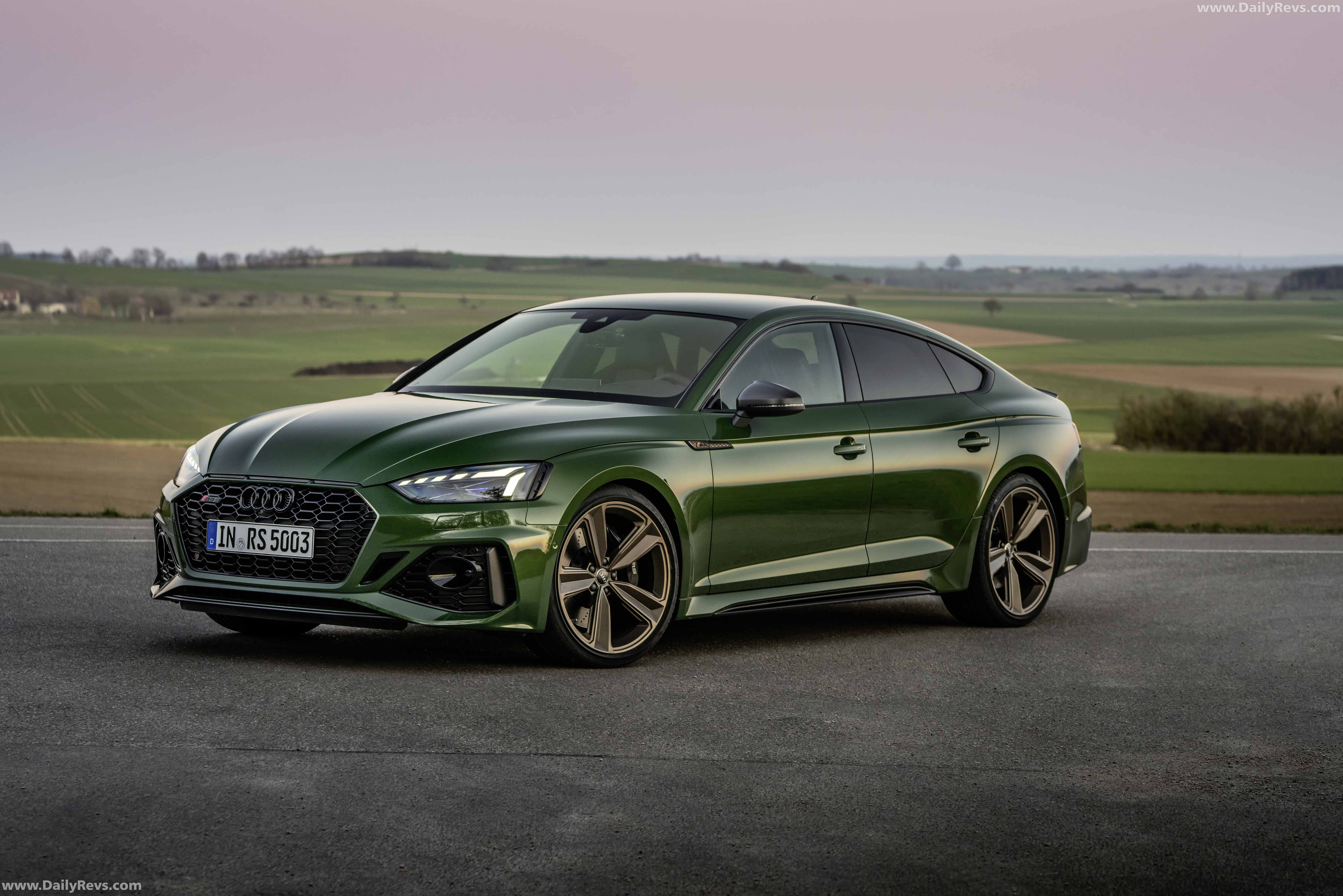 2020 Audi RS5 Sportback - HD Pictures, Videos, Specs & Information - Dailyrevs