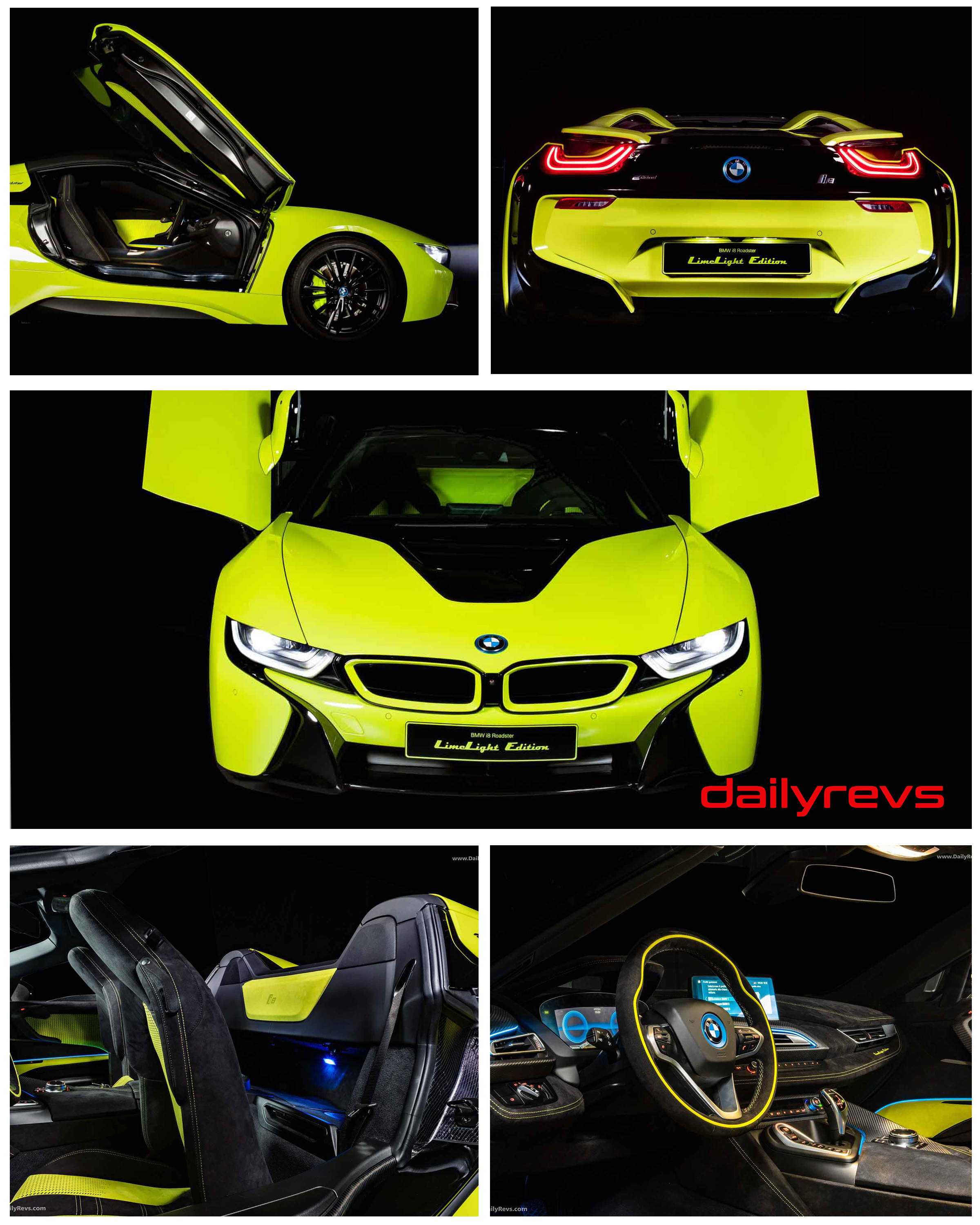 2020 Bmw I8 Roadster Limelight Edition Hd Pictures Videos Specs Information Dailyrevs
