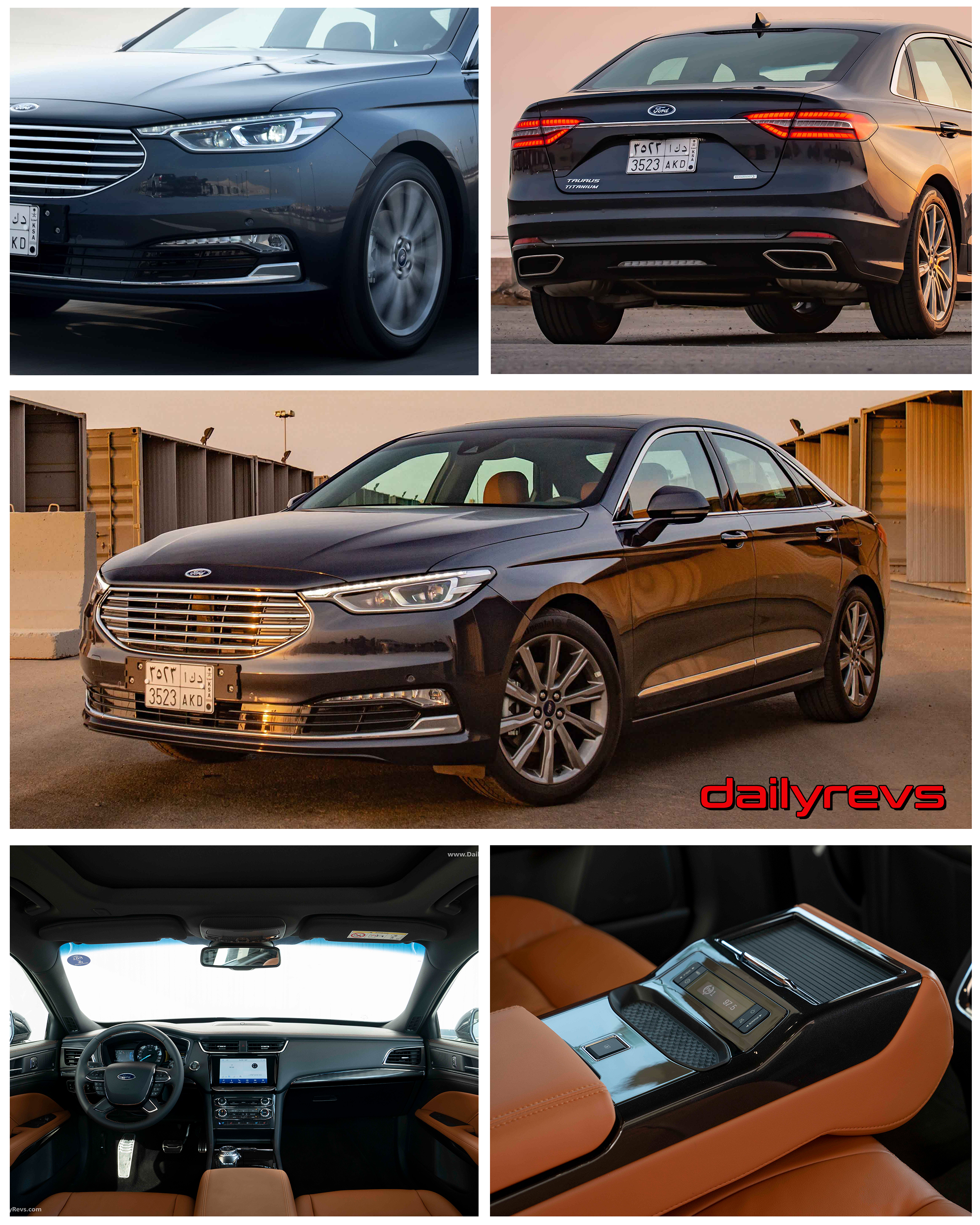 4 Ford Taurus - HD Pictures, Videos, Specs & Information