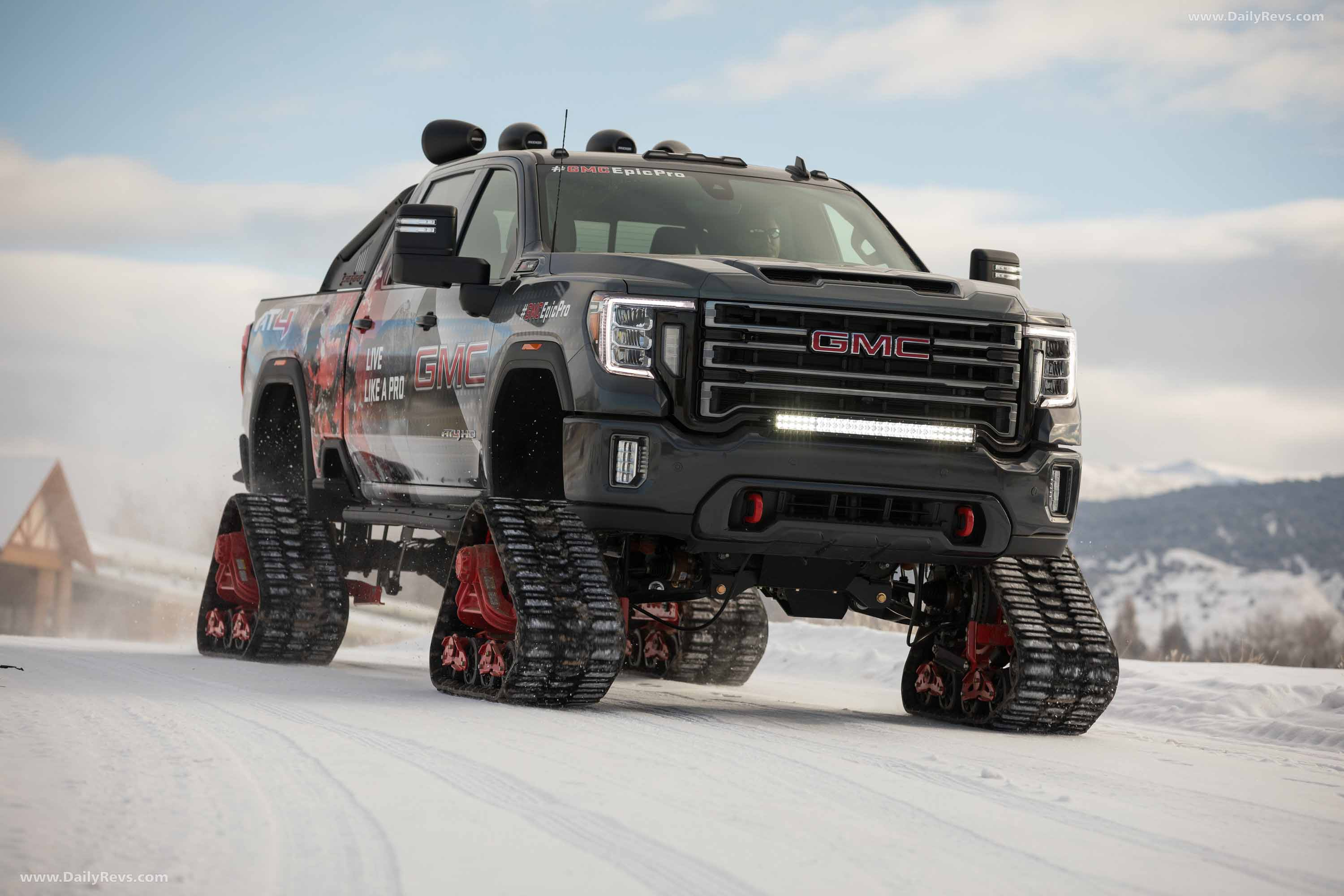 2020 gmc sierra at4 hd all-mountain concept - dailyrevs