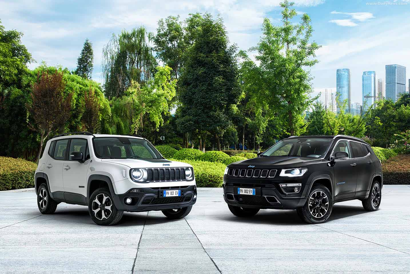 2020 jeep compass 4xe first edition - hd pictures, videos