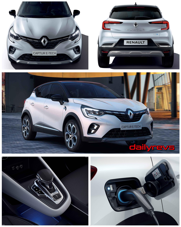 2020 Renault Captur E-Tech Plug-in