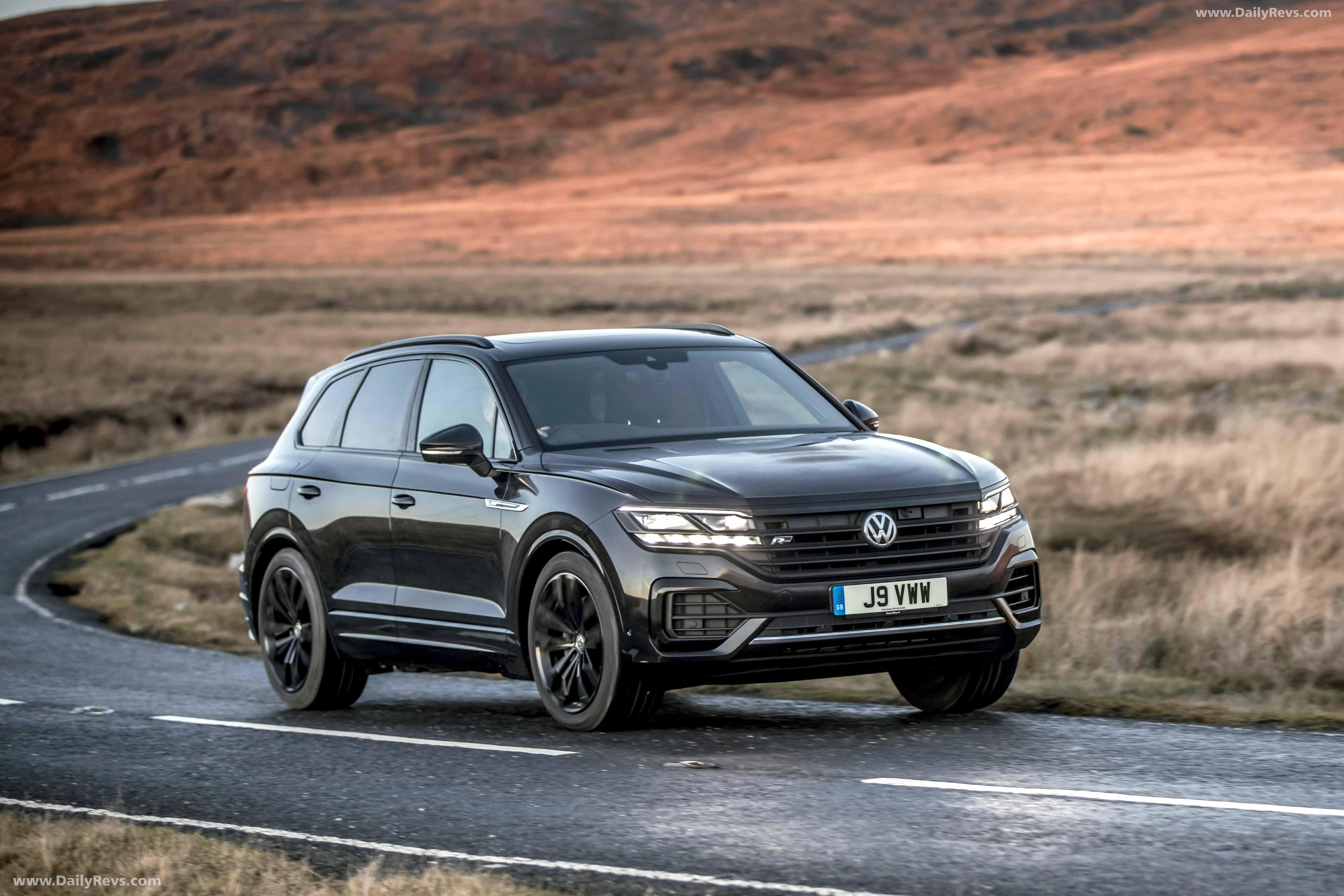 2020 Volkswagen Touareg Release